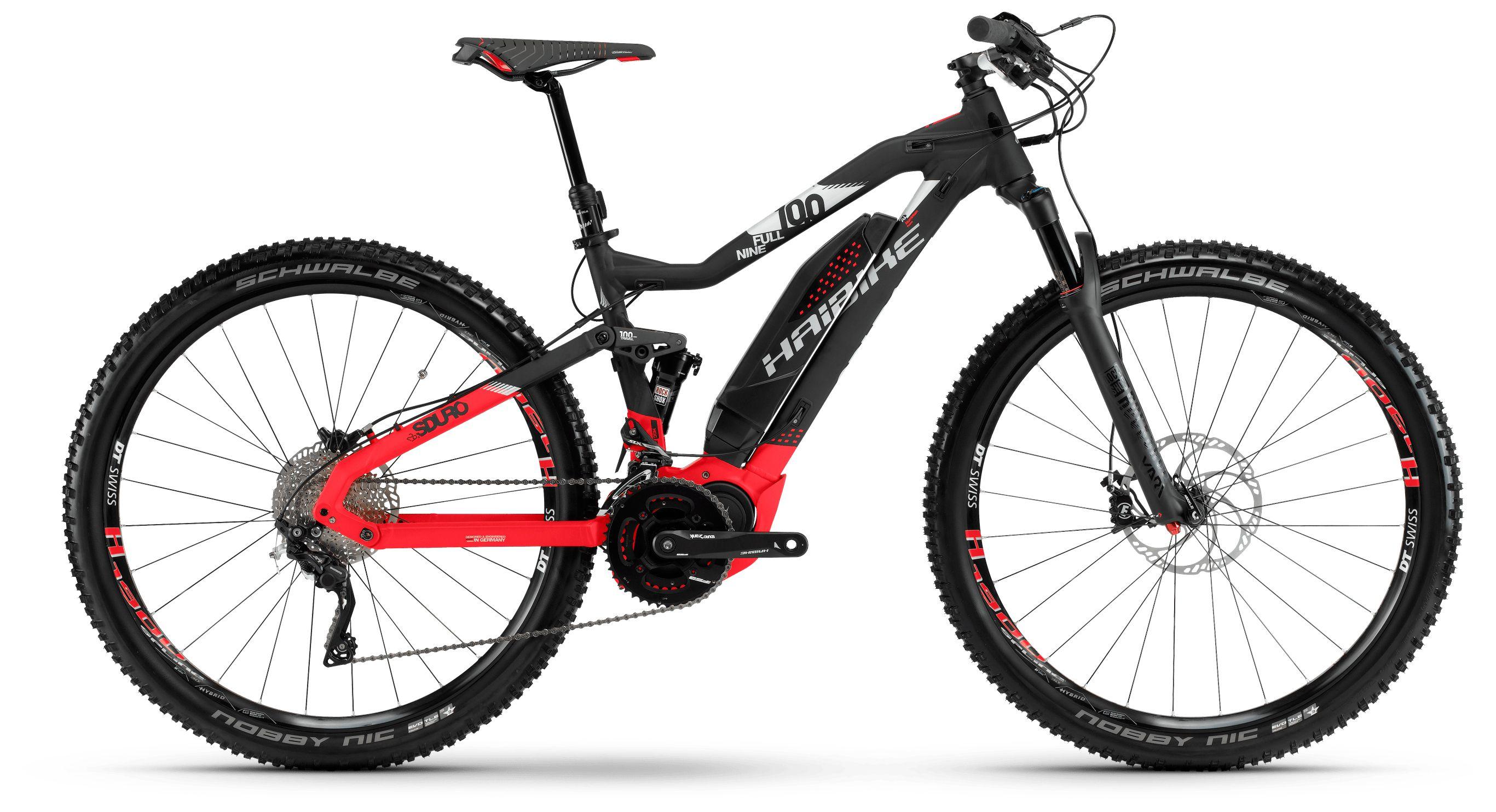 Фото - Велосипед Haibike Sduro FullNine 10.0 500Wh 20s XT 2018 вилка велосипедная rockshox 14 vivid r2c 200mm 222mm