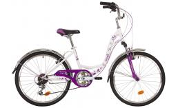 Подростковый велосипед для девочек  Novatrack  Butterfly 24  2019