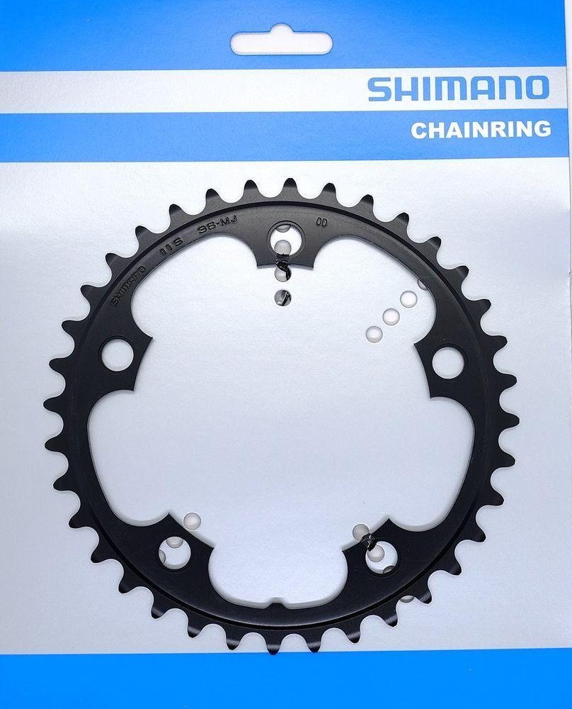 Запчасть Shimano передняя FC-RS500, 36T-MJ запчасть shimano передняя fc rs500 36t mj