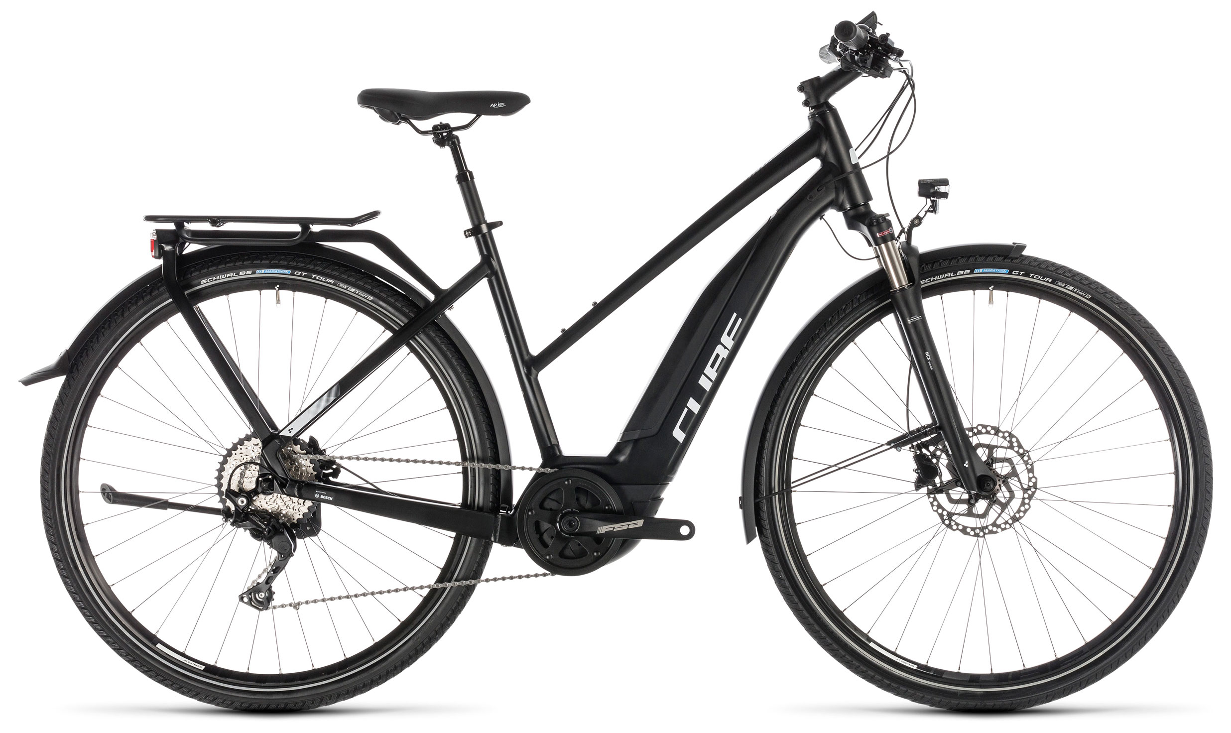Велосипед Cube Touring Hybrid Pro 500 Trapez 2019 велосипед cube touring hybrid one 400 lady 2018