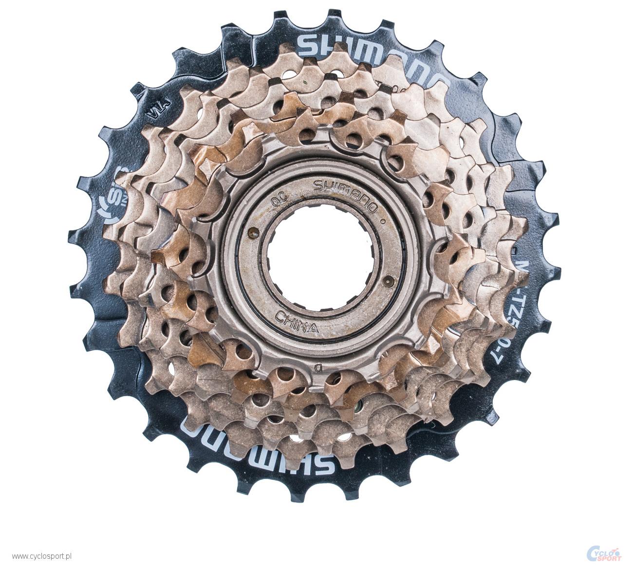 Запчасть Shimano TZ500, 7ск, 14-28 (AMFTZ5007428) запчасть shimano tourney ft35 a 6 7ск крепление на петух