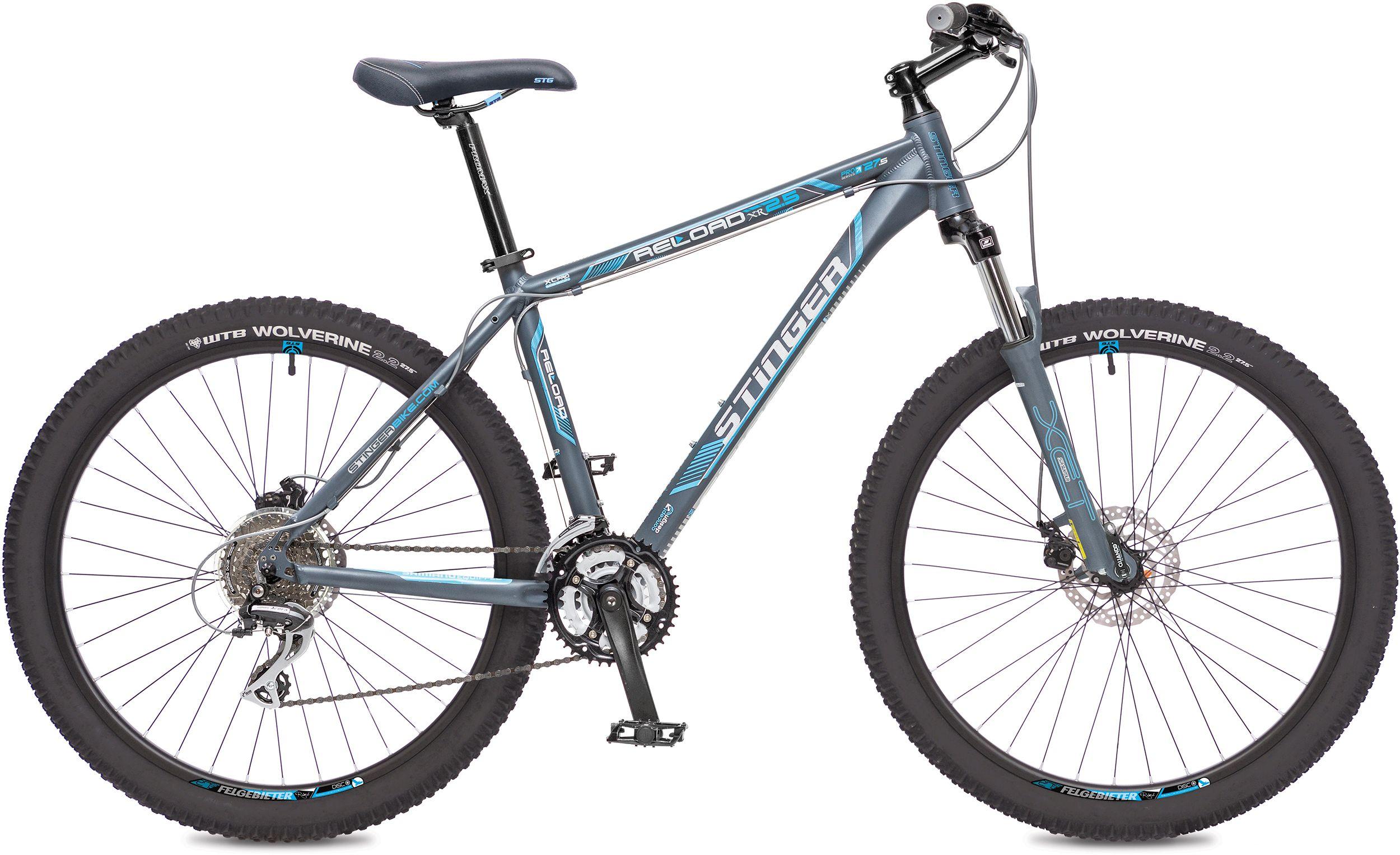 Велосипед Stinger Reload 2.5 27,5 2016 велосипед stinger valencia 2017
