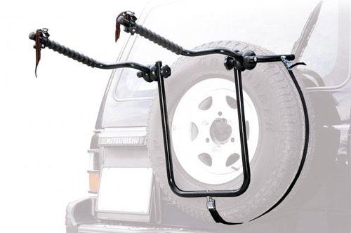 GEV 4x4 Bike Carrier (2 вел) сталь d30mm,  на заднюю дверь  - артикул:113235