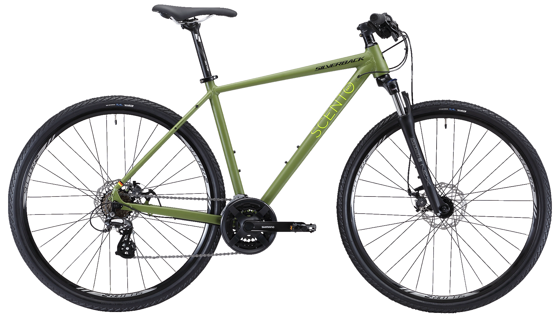 Велосипед Silverback Scento Path 2019