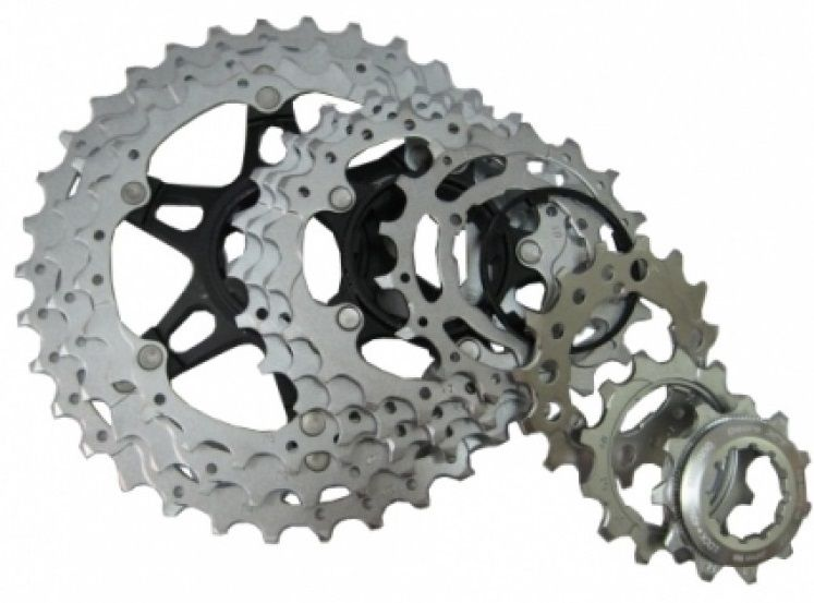 Запчасть Shimano для кассеты XT M771-10, (19-21-23T), BJ shimano deore xt m771 silver 9s 27s speed mtb bicycle rear derailleur part long cage