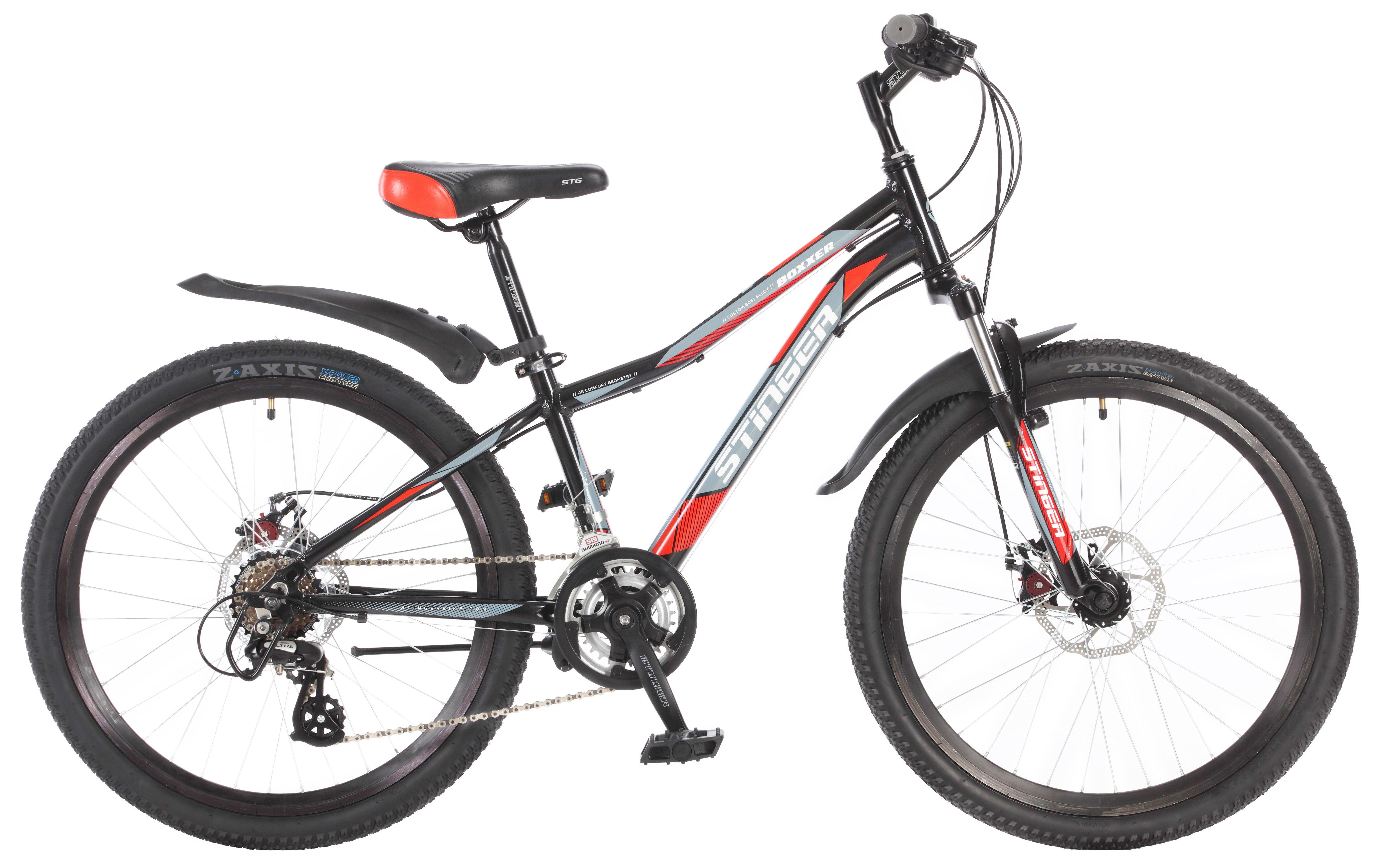Велосипед Stinger Boxxer D 2.0 24 2017