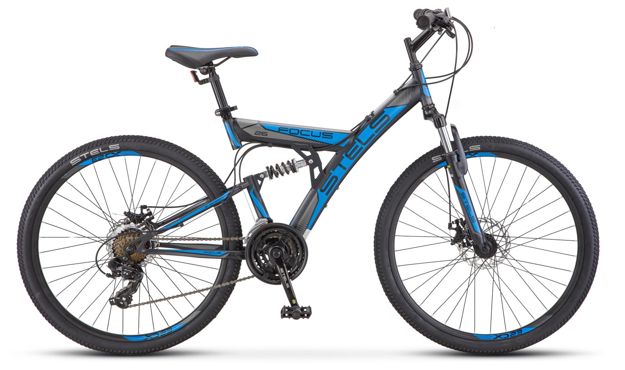 Велосипед Stels Focus MD 26 21-sp (V010) 2019 велосипед stels focus 21 ck 2014