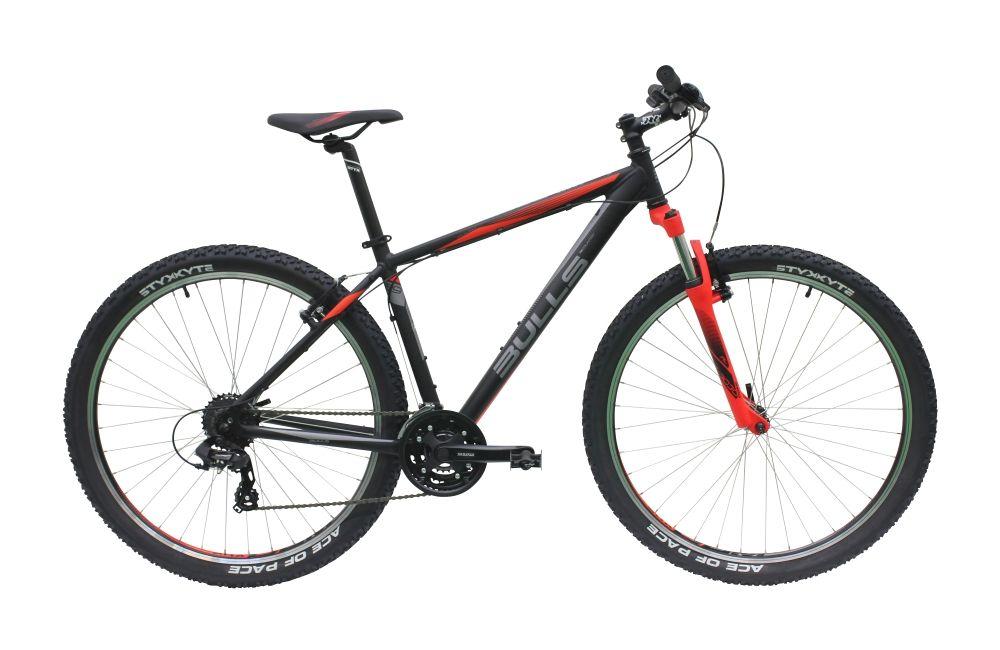 Велосипед BullsГорные<br>Высококачественный велосипед Wildtail 29, сочетающий в себе только самые надежные компоненты. Это по-настоящему универсальный велосипед для любителей здорового и активного образа жизни. Рама, изготовленная из алюминиевого сплава 7005 серии, обладает высокой прочностью. Вторым по важности компонентом данного велосипеда является вилка Suntour M3030-A-P с ходом 100 мм. Надежные и простые в использовании тормоза типа V-brake остановят вас в нужный момент. На велосипеде установлена новая навеска Shimano Tourney RD-TX800. Чтобы купить Bulls Wildtail 29, добро пожаловать в наш магазин. Модель реализуется по оптимальной цене в рублях, а для иногородних заказчиков предусмотрена услуга быстрой отправки в любой город России.<br><br>year: 2016<br>пол: мужской<br>тип рамы: хардтейл<br>уровень оборудования: любительский<br>длина хода вилки: до 100 мм<br>блокировка амортизатора: нет<br>рулевая колонка: Styx, алюминий<br>передний тормоз: Tektro<br>задний тормоз: Tektro<br>система: Suntour CW-XCC, 42-34-24T<br>ободья: Styx DBM-1<br>передняя покрышка: Styx Ace of Pace 29 x 2.25<br>задняя покрышка: Styx Ace of Pace 29 x 2.25<br>седло: Styx<br>подседельный штырь: Styx, алюминий<br>рама: Алюминий 7005<br>вилка: Suntour M3030-A-P, ход 100 мм<br>тип заднего амортизатора: без амортизатора<br>цвет: белый<br>размер рамы: 18&amp;amp;quot;<br>материал рамы: алюминий<br>тип тормозов: ободной<br>диаметр колеса: 29<br>тип амортизированной вилки: пружинно-масляная<br>задний переключатель: Shimano Tourney RD-TX800, 8 скоростей<br>количество скоростей: 24