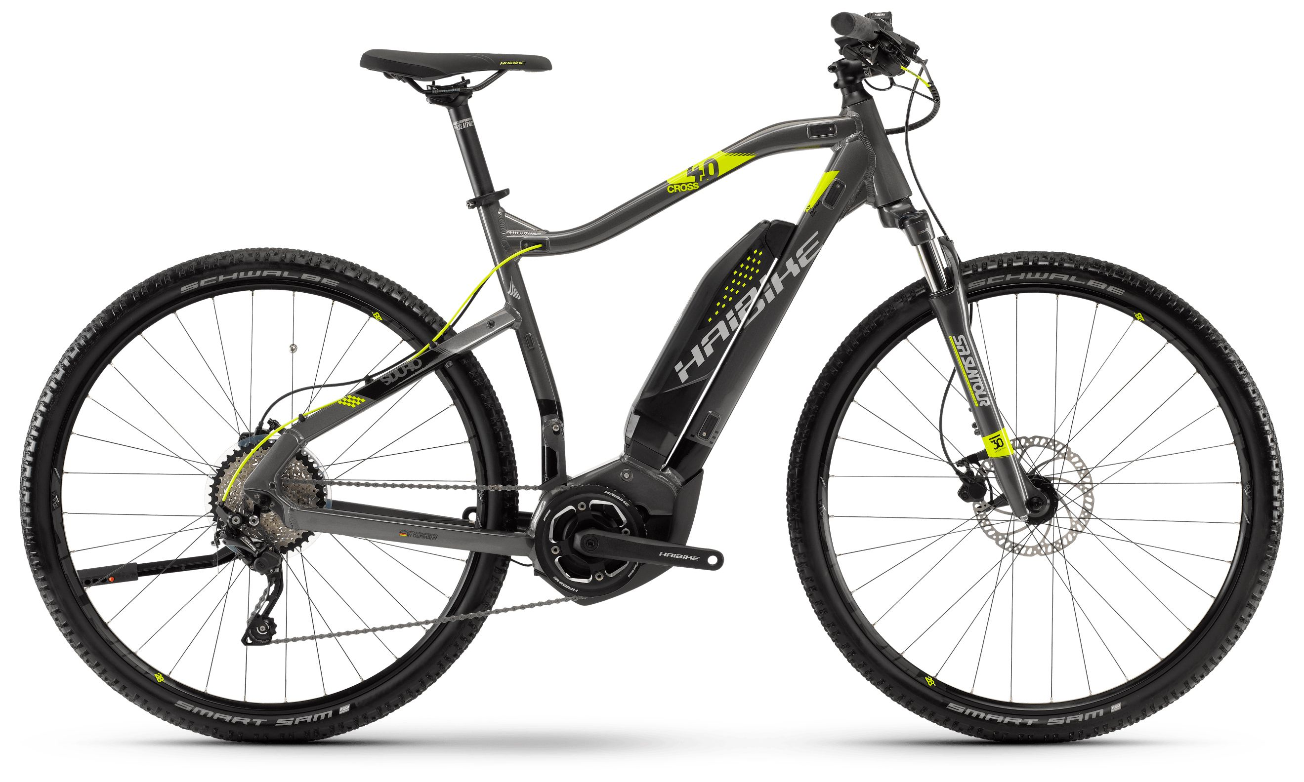 Велосипед Haibike Sduro Cross 4.0 men 400Wh 10s Deore 2018,  Городские  - артикул:288645