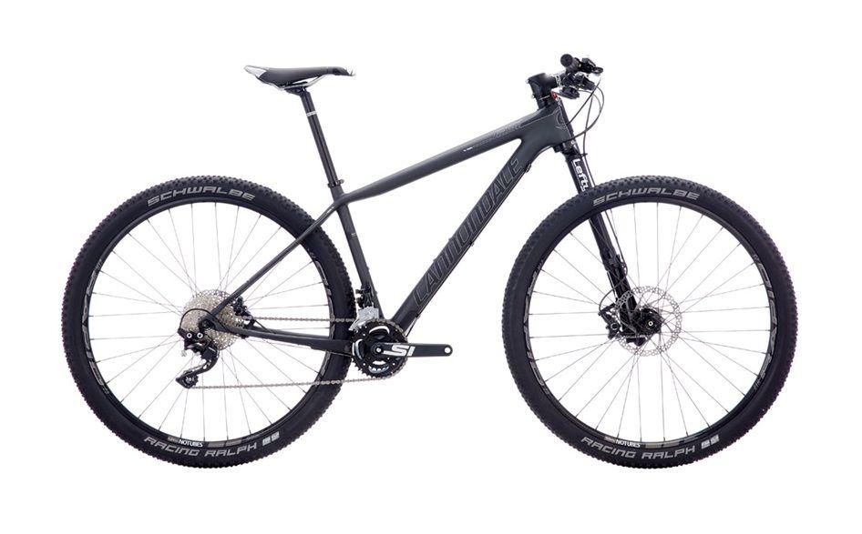 Велосипед CannondaleГорные<br><br><br>year: 2016<br>цвет: серый<br>пол: мужской<br>тип тормозов: дисковый гидравлический<br>диаметр колеса: 29<br>тип рамы: хардтейл<br>уровень оборудования: профессиональный<br>материал рамы: карбон<br>тип амортизированной вилки: воздушно-масляная<br>длина хода вилки: от 100 до 150 мм<br>тип заднего амортизатора: без амортизатора<br>количество скоростей: 20<br>блокировка амортизатора: да<br>рулевая колонка: Cannondale HeadShok Si<br>вынос: Cannondale C3, алюминиевый сплав 6061, 1.5, 31.8 мм, -5°<br>руль: Cannondale C3 flat, double-butted, алюминиевый сплав 6061, ширина 700 мм<br>грипсы: Cannondale Locking Grips<br>передний тормоз: Shimano Deore, диаметр ротора 180 мм<br>задний тормоз: Shimano Deore, диаметр ротора 160 мм<br>тормозные ручки: Shimano Deore, I-Spec<br>цепь: Shimano HG50<br>система: Cannondale Si, Ai, FSA, 26/36T<br>каретка: Cannondale PressFit30, алюминиевый сплав<br>ободья: Stans ZTR Rapid, tubeless ready, 32h<br>передняя втулка: Lefty 60<br>задняя втулка: Formula DC-22<br>спицы: DT Swiss Competition<br>передняя покрышка: Schwalbe, Racing Ralph Performance, tubeless ready, 29 x 2.1<br>задняя покрышка: Schwalbe, Racing Ralph Performance, tubeless ready, 29 x 2.1<br>седло: Prologo K3<br>подседельный штырь: Cannondale C3, алюминиевый сплав 6061, 27.2 x 400 мм<br>кассета: Shimano HG-50, 11-36, 10 скоростей<br>передний переключатель: Shimano Deore M618<br>задний переключатель: Shimano XT, Shadow Plus<br>манетки: Shimano SLX, I-Spec<br>рама: F-Si Asymmetric, BallisTec Carbon, Speed Save, 1.5 Si Head Tube<br>вилка: Lefty 2.0, PBR Isolated Damper Technology with XC+ tune and updated controls, вынос 55 мм, ход 100 мм<br>размер рамы: 20&amp;amp;quot;