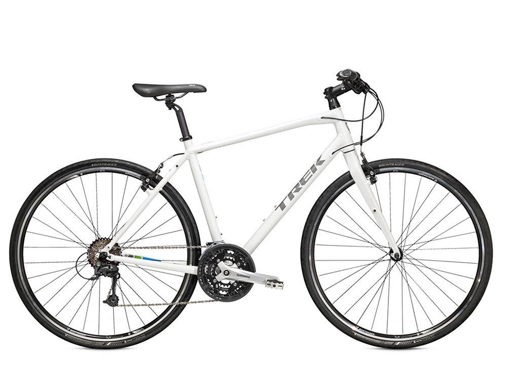 Велосипед TrekГородские<br>ВЕЛОСИПЕД TREK 7.4 FX (2015) – туристический байк с достойной технической начинкой и великолепными дизайнерскими характеристиками. Модель имеет 27 скоростей, сконструирована на базе мощных 28 дюймовых колес и невероятно легкой алюминиевой рамы. Тормоза Tektro ободного типа прекрасно дополняют байк, давая райдеру возможность мгновенно тормозить на самых сложных участках дороги даже во влажную погоду. Ободья Bontrager TL добавляют колесам жесткость, а покрышки Bontrager AW1 отвечают за 100% сцепление с дорожным полотном.Купить ВЕЛОСИПЕД 7.4 FX (2015) можно в нашем магазине по оптимальной цене в рублях. Байк отправляется в любой город РФ, имеет 100% гарантию оригинального качества и обладает безупречными техническими характеристиками.<br><br>year: 2015<br>цвет: серый<br>пол: мужской<br>уровень оборудования: продвинутый<br>длина хода вилки: нет<br>блокировка амортизатора: нет<br>планетарная втулка: нет<br>рулевая колонка: VP, полу-картриджные подшипники<br>вынос: Bontrager Elite Blendr, компьютер, 31.8 мм, 7 градусов<br>руль: Bontrager, Satellite Plus IsoZone, 31.8 мм, подъем 15 мм<br>передний тормоз: Tektro, алюминиевый сплав<br>задний тормоз: Tektro, алюминиевый сплав<br>цепь: KMC X9<br>система: Shimano Acera M391, 48/36/26 w/chainguard<br>педали: Nylon body w/alloy cage<br>ободья: Bontrager TLR, 32 отверстия<br>передняя втулка: Formula FM21, алюминиевый сплав<br>задняя втулка: Shimano RM30, алюминиевый сплав<br>передняя покрышка: Bontrager AW1, Hard-Case Lite, 700 x 32c<br>задняя покрышка: Bontrager AW1, Hard-Case Lite, 700 x 32c<br>седло: Bontrager H1<br>подседельный штырь: Bontrager Nebula, 27.2 мм<br>кассета: Shimano HG20 11-32, 9 скоростей<br>манетки: Shimano Acera M390, 9 скоростей<br>рама: Алюминиевый сплав, FX Alpha Gold, совместим DuoTrap S, стойка и крепления брызговика<br>вилка: Bontrager Nebula, carbon<br>размер рамы: 17.5&amp;amp;quot;<br>материал рамы: алюминий<br>тип тормозов: ободной<br>диаметр колеса: 28<br>тип амортизирован