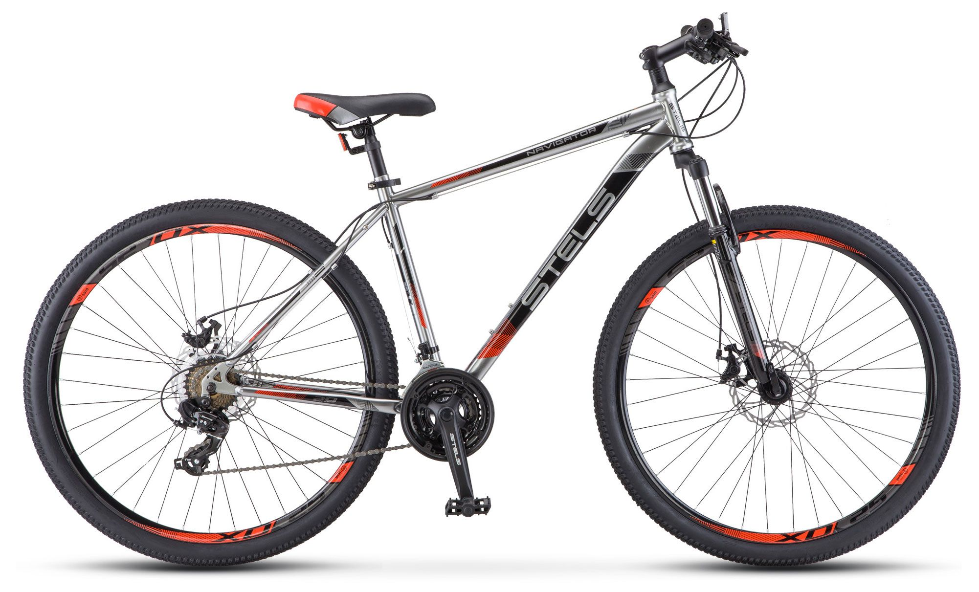 Велосипед Stels Navigator 900 MD 29 (V010) 2018 stels велосипед navigator 24