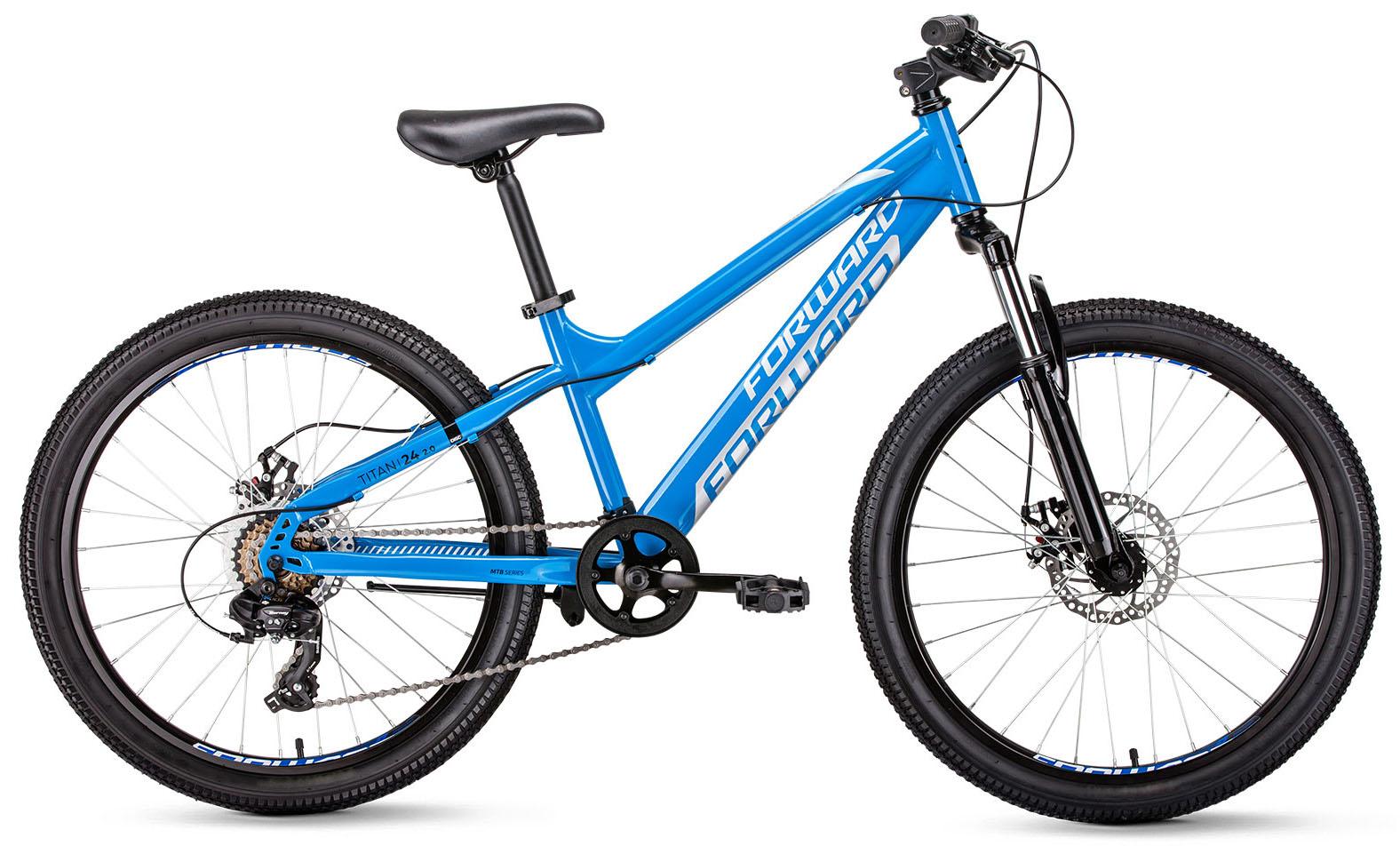 Велосипед Forward Titan 24 2.0 disc 2019 велосипед forward seido 24 2 0 disc 2017 колеса 24 рама 15 красный матовый rbkw7664p006