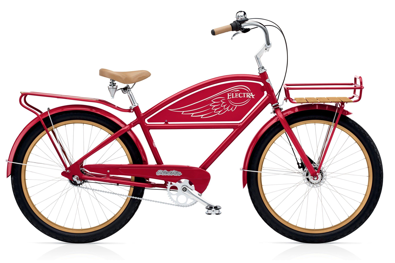 Велосипед Electra Cruiser Delivery 3i Men's 2017 багажники inno