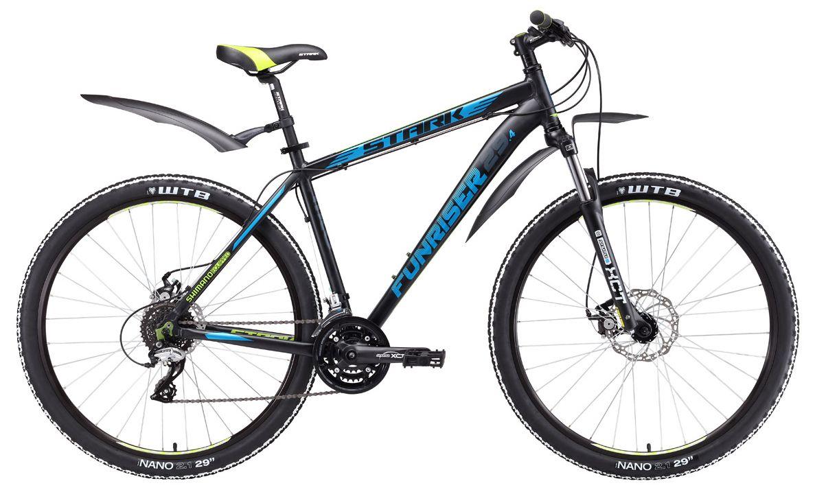 Велосипед Stark Funriser 29.4 D 2017 велосипед stark outpost disc 2016 черно красный 18