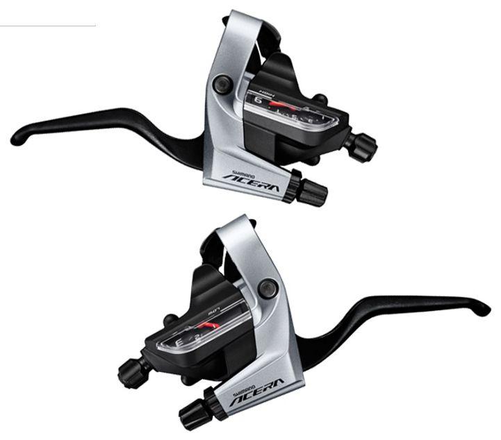 Запчасть Shimano Acera T3000 (ESTT3000PA) шифтер shimano acera m3010 левый 2 скорости трос 1800 мм eslm3010lb