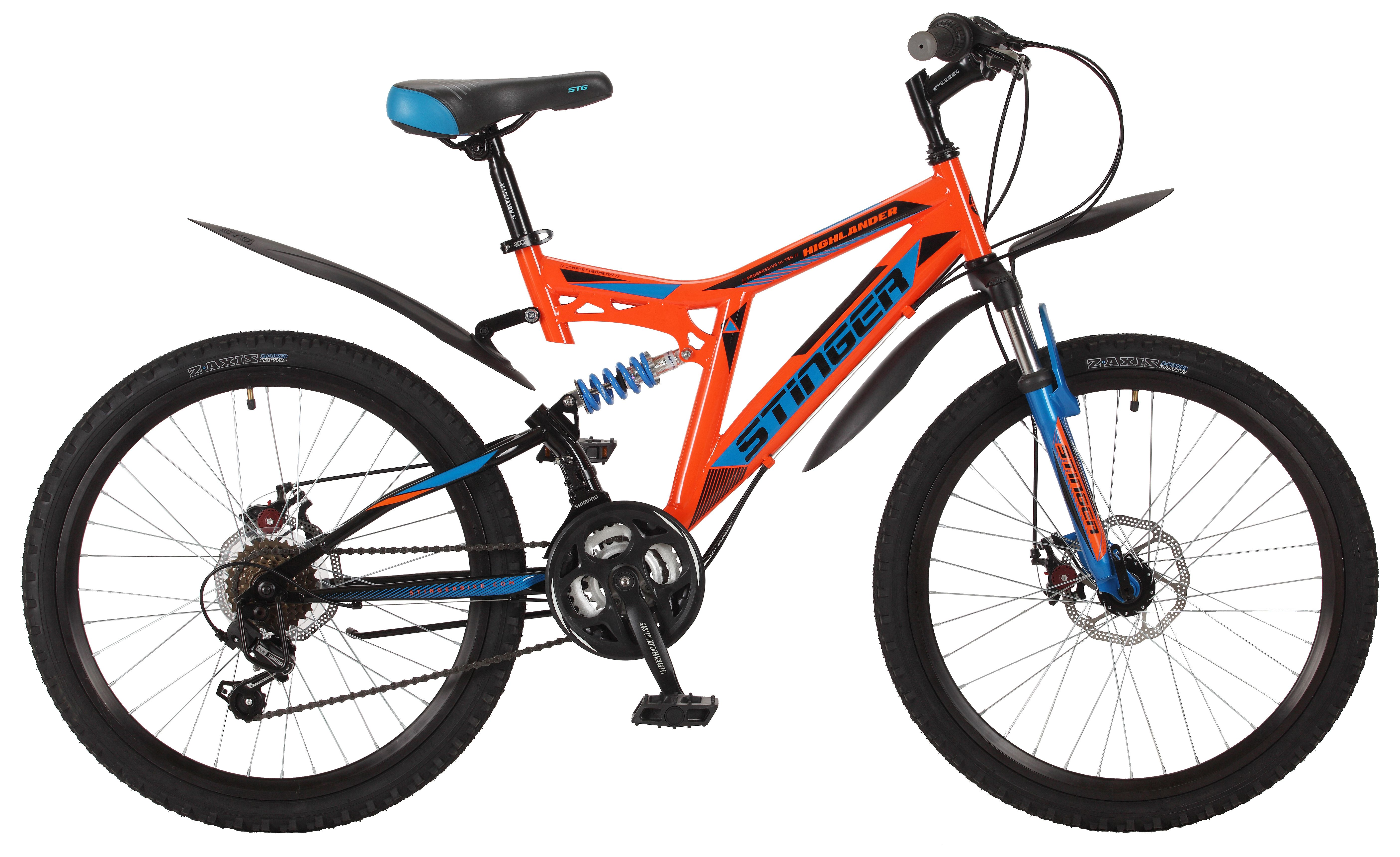 Велосипед Stinger Highlander 100D 24 2017