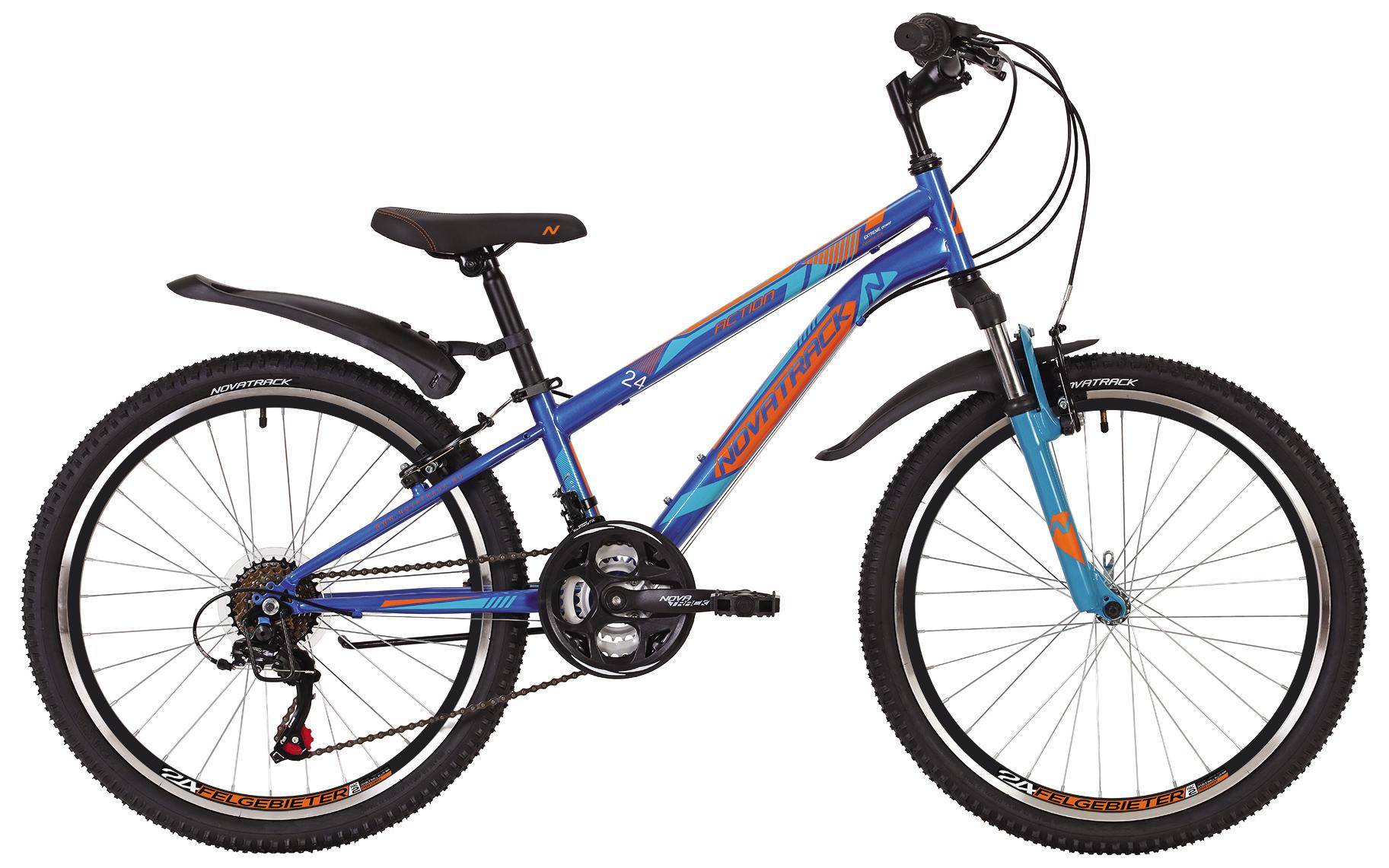 Велосипед Novatrack Action 24 2019 велосипед novatrack action 24 2017 синий