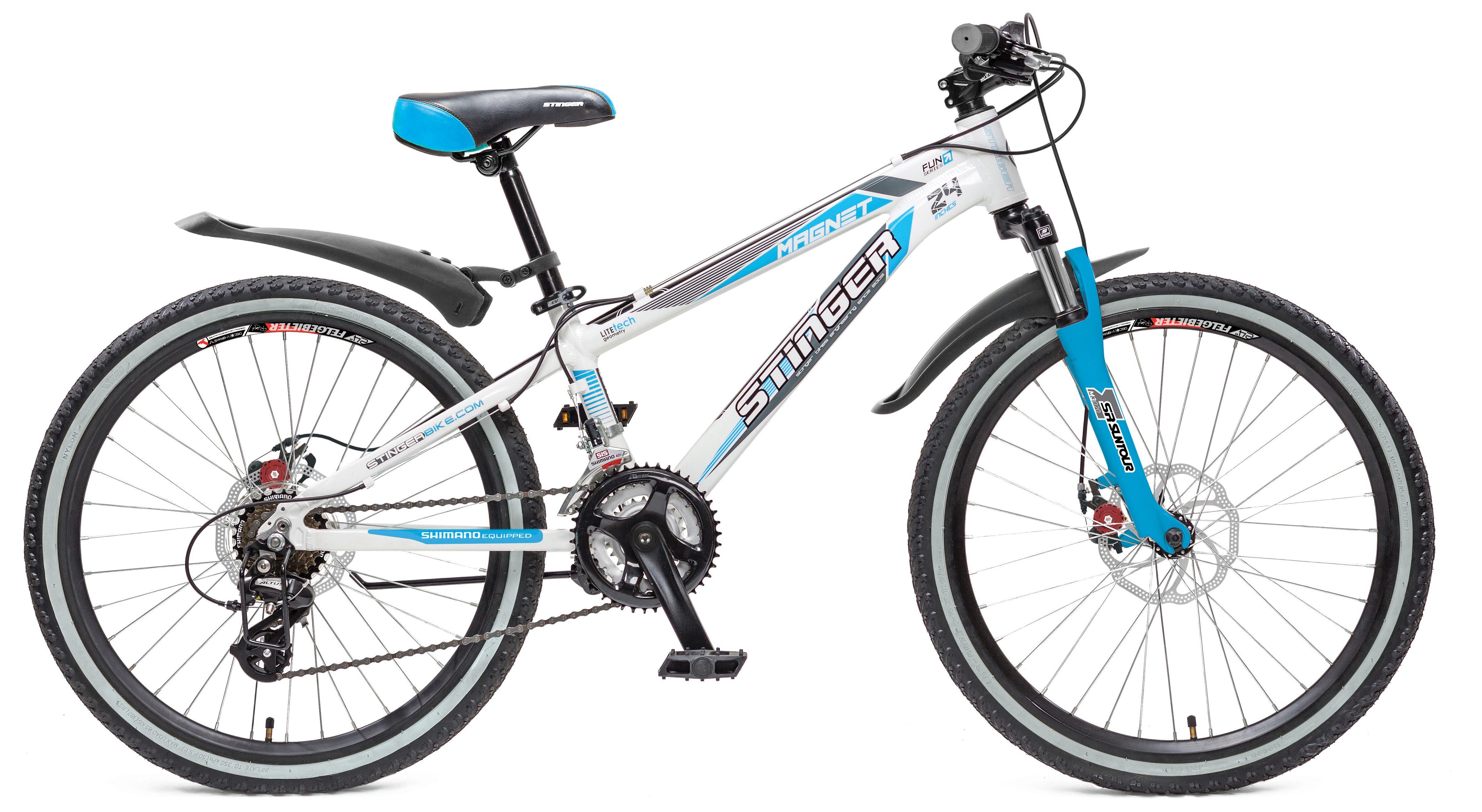 Велосипед Stinger Magnet JR 24 2017 велосипед stinger valencia 2017