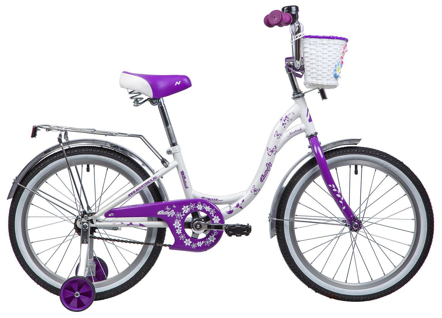 Велосипед Novatrack Butterfly 20 2019 велосипед novatrack 16 зебра бордово белый 165 zebra clr6