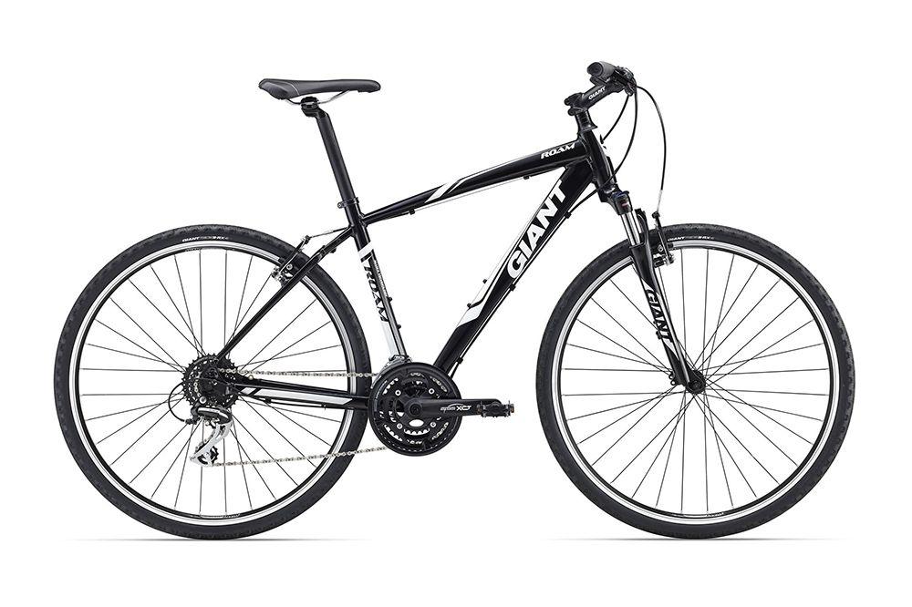 Велосипед GiantГородские<br>Великолепный гибридный велосипед Giant  Roam 3 2016, который сочетает в себе все плюсы как горных, так и дорожных велосипедов. На этой модели вы с одинаковым комфортом сможете передвигаться как по городу, так и по пересеченке. Рама Giant  Roam 3 2016 изготовлена из специального высококлассного сплава алюминия, что дало всему велосипеду запас прочности и малый вес. Неприхотливые в обслуживании и надежные в работе ободные тормоза работают безупречно при любых условиях. Навесное оборудование любительского уровня Shimano Acera - это проверенный временем механизм переключения передач.<br><br>year: 2016<br>пол: мужской<br>уровень оборудования: любительский<br>длина хода вилки: до 100 мм<br>блокировка амортизатора: нет<br>планетарная втулка: нет<br>вынос: Giant Sport, алюминиевый сплав, 15 градусов<br>руль: Giant Connect, Low Rise, 31.8 мм<br>передний тормоз: MTB, алюминиевый сплав<br>задний тормоз: MTB, алюминиевый сплав<br>тормозные ручки: Shimano EF51<br>цепь: KMC Z8<br>система: SR Suntour XCT-T318, 28/38/48<br>каретка: SR Suntour Cartridge BB<br>педали: One-piece, PP, 9/16<br>ободья: Giant GX02<br>передняя втулка: Giant GX02<br>задняя втулка: Giant GX02<br>спицы: Giant GX02<br>передняя покрышка: Giant S-RX4, X-Road Tire,700x40C<br>задняя покрышка: Giant S-RX4, X-Road Tire,700x40C<br>седло: Giant Connect upright<br>подседельный штырь: Giant Sport, 30.9 мм<br>кассета: Shimano HG31 11-34, 8 скоростей<br>манетки: Shimano EF51, 3x8<br>рама: Алюминиевый сплав, ALUXX-Grade<br>вилка: SR Suntour NEX 700C, ход 63 мм<br>цвет: чёрный<br>размер рамы: 16&amp;amp;quot;<br>материал рамы: алюминий<br>тип тормозов: ободной<br>диаметр колеса: 28<br>тип амортизированной вилки: пружинная<br>передний переключатель: Shimano M191<br>задний переключатель: Shimano Acera<br>количество скоростей: 24