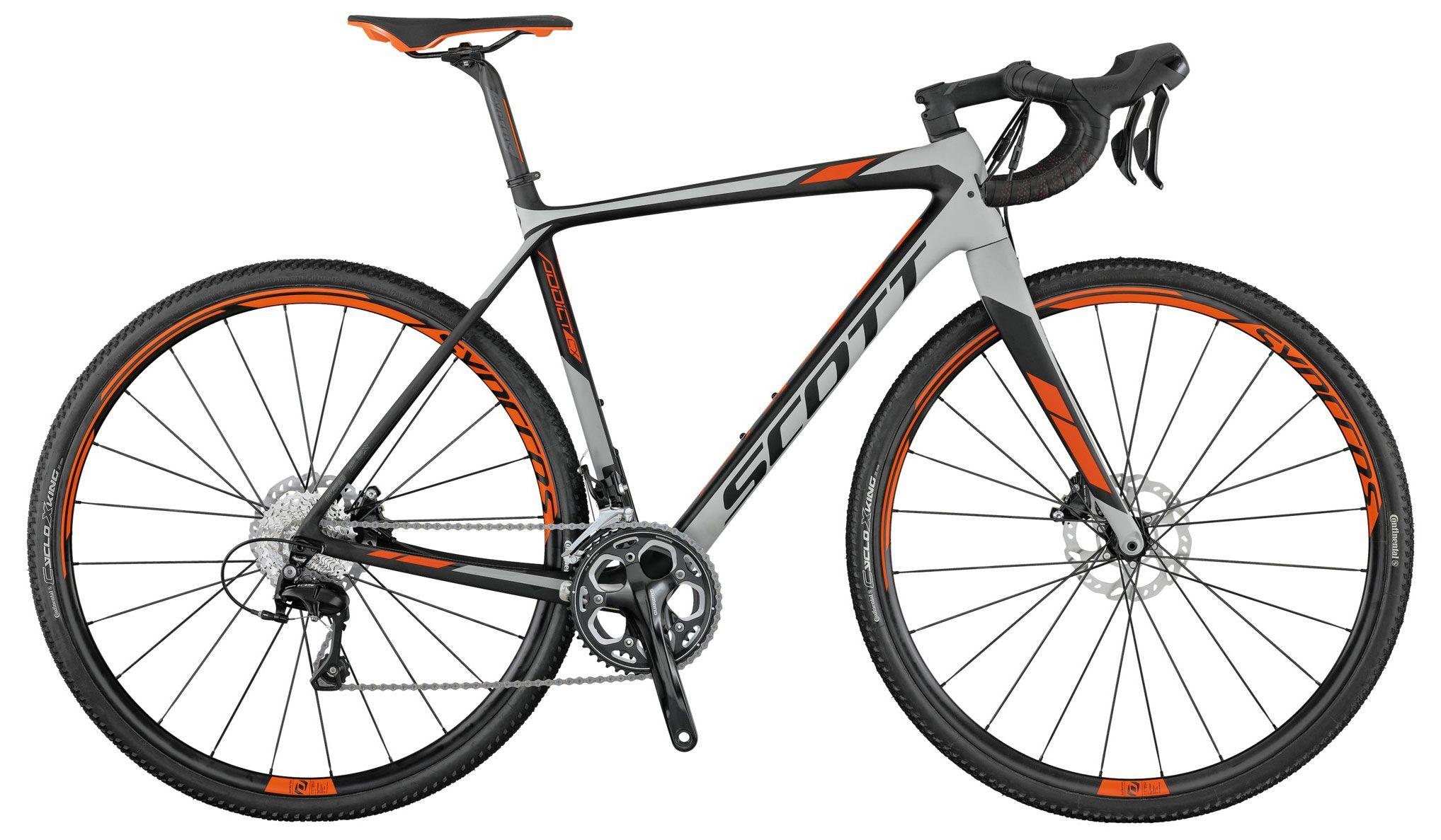 Велосипед Scott Addict CX 20 disc 2017 цена 2017