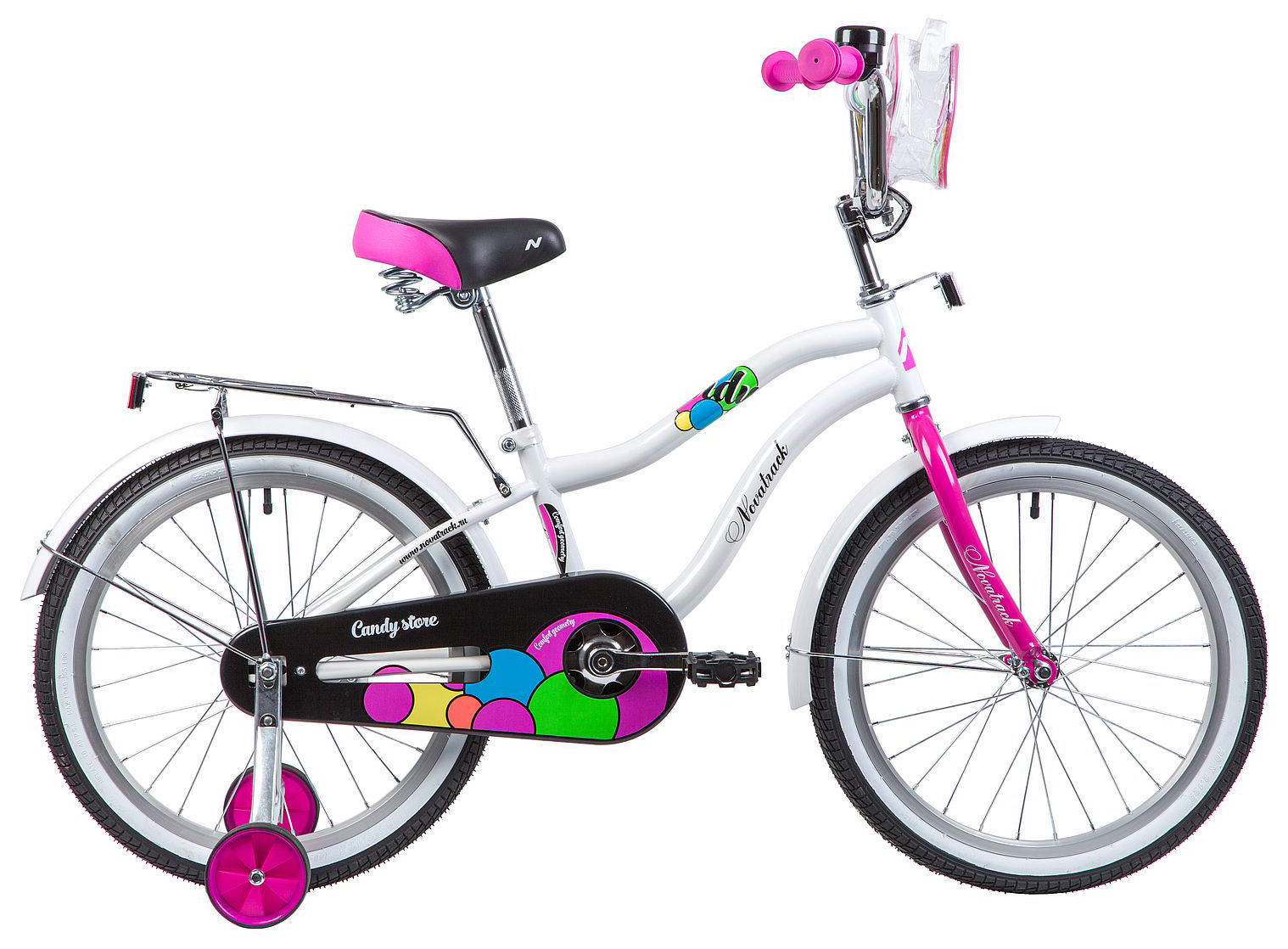 Велосипед Novatrack Candy 20 2019 велосипед novatrack 16 зебра бордово белый 165 zebra clr6