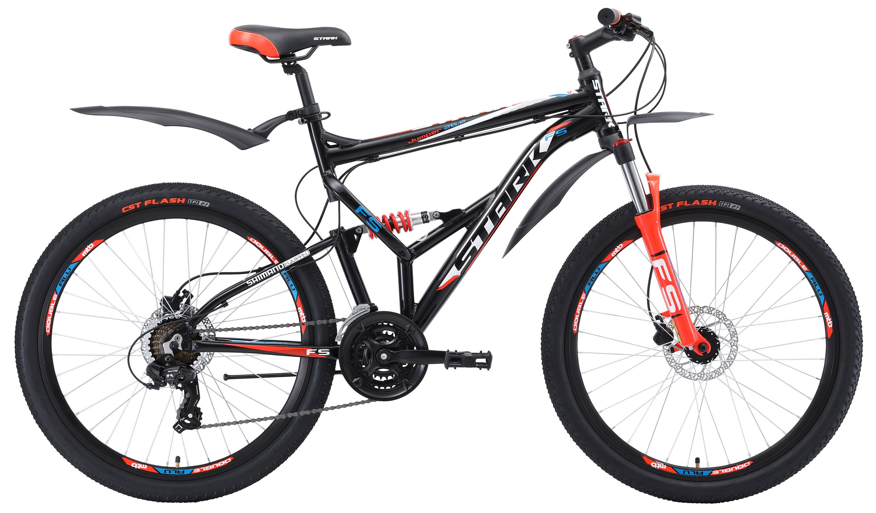 Велосипед Stark Jumper 26.2 FS HD 2018 велосипед stark rocket 20 1 fs v 2017