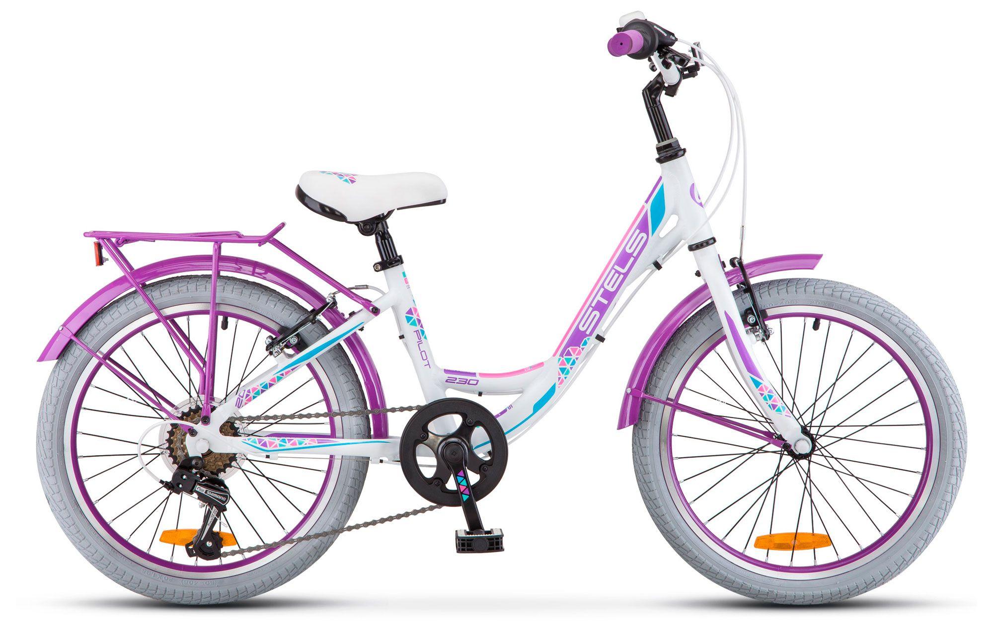 Велосипед Stels Pilot 230 Lady 20 (V010) 2018 велосипед stels pilot 210 gent v010 2018