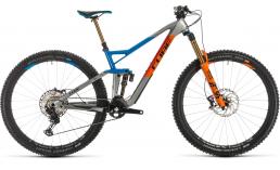 Фрирайд / даунхилл двухподвесный велосипед  Cube  Stereo 150 C:62 SL 29  2020