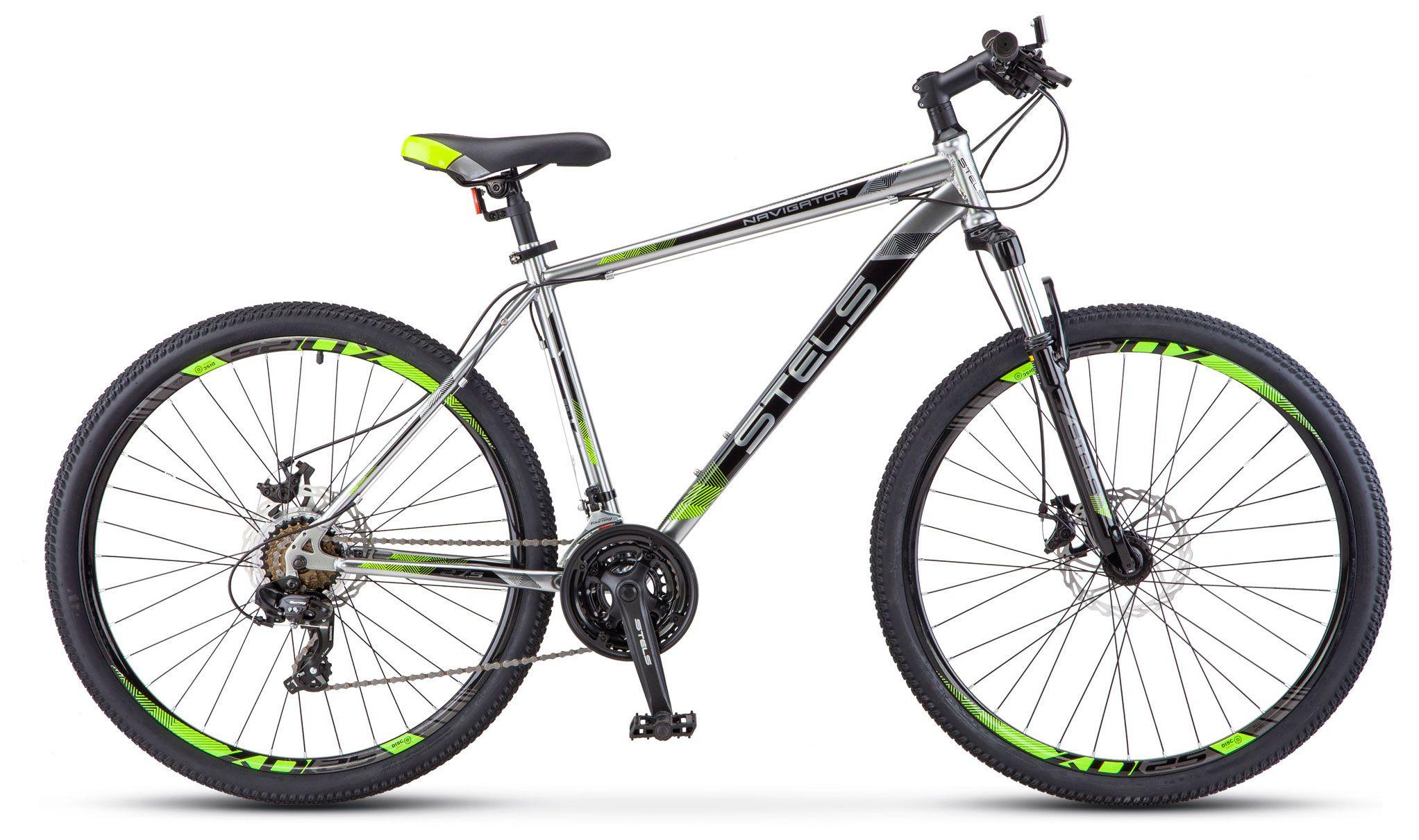 Велосипед Stels Navigator 700 MD 27.5 (V010) 2018 велосипед stels navigator 670 md 2015
