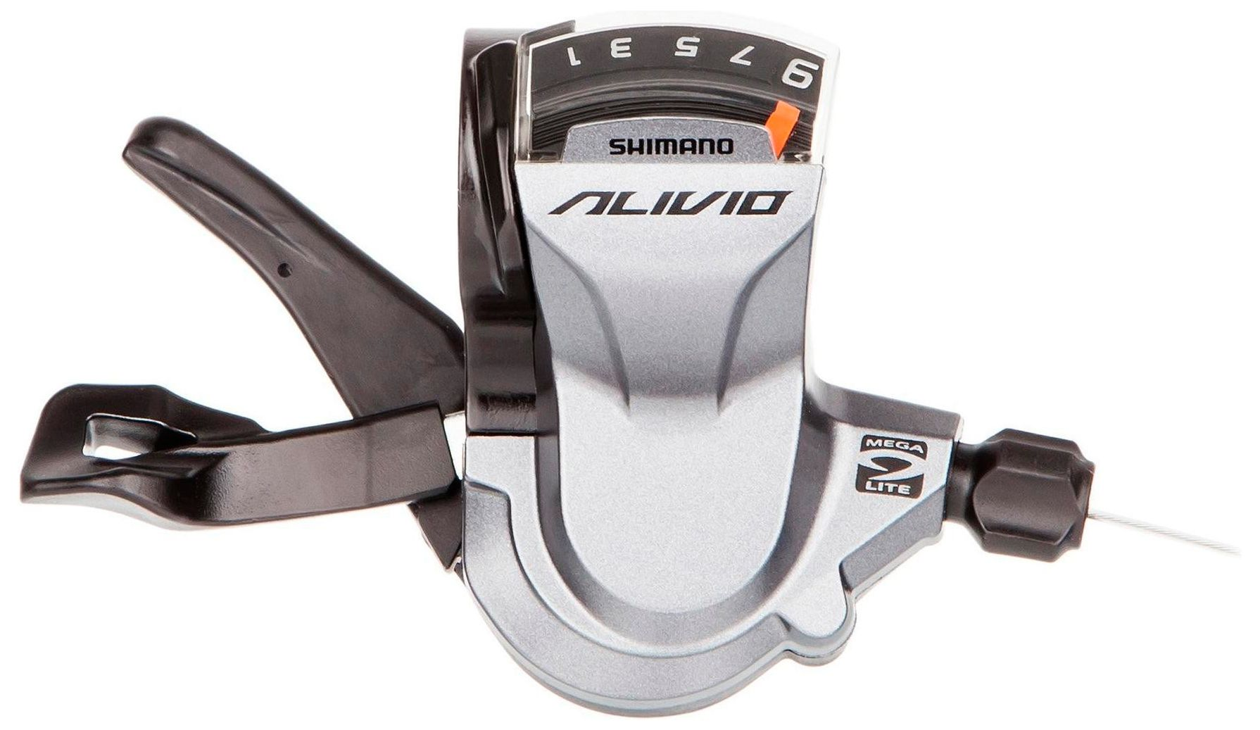 Запчасть Shimano Alivio M4000, прав, 9ск, тр. 2050 мм шифтер shimano alivio m4000 3 x 9 скоростей
