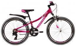 Подростковый велосипед для девочек  Novatrack  Katrina 24  2019