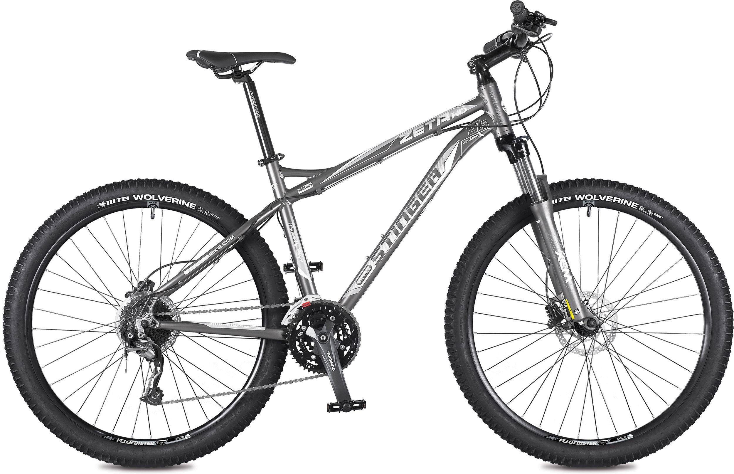 Велосипед Stinger Zeta HD 27,5 2015 велосипед stinger zeta d 2015