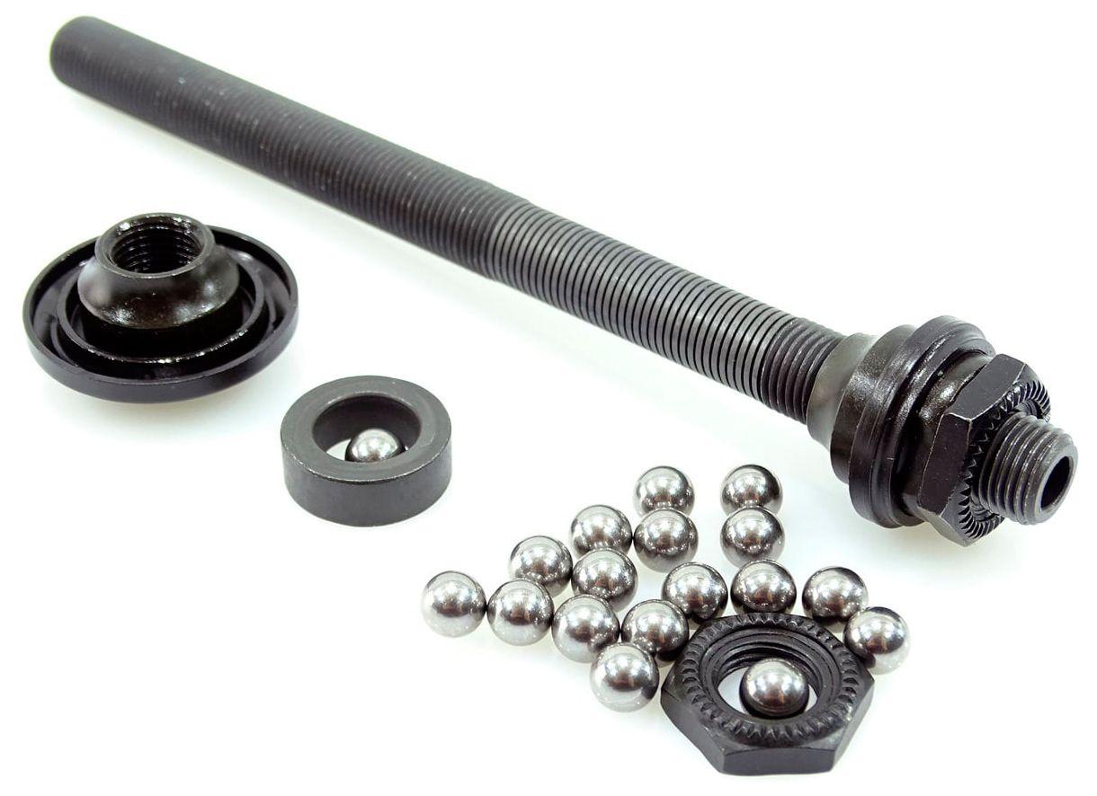 Запчасть Shimano ось в сборе, для WH-R501, 141 мм(5-9/16) ось shimano bb71 bb91 bb94 bb72 bb86 bb90 bb92