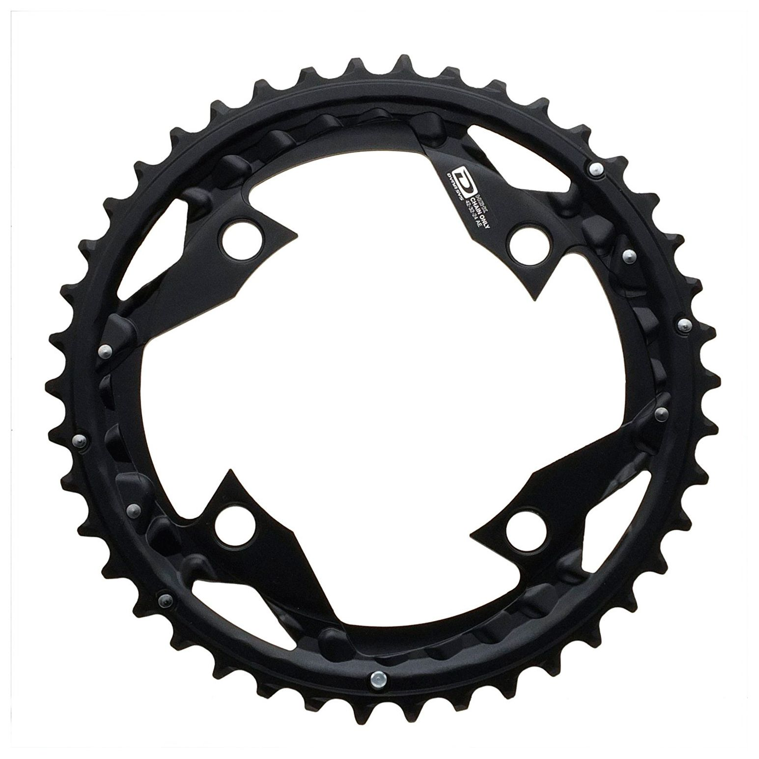 Запчасть Shimano передняя SLX FC-M670, 42T, AE fouriers cr dx004 cnc single chain ring bike bicycle chainrings sprocket 40t 42t for 10s shimano b c d 104mm