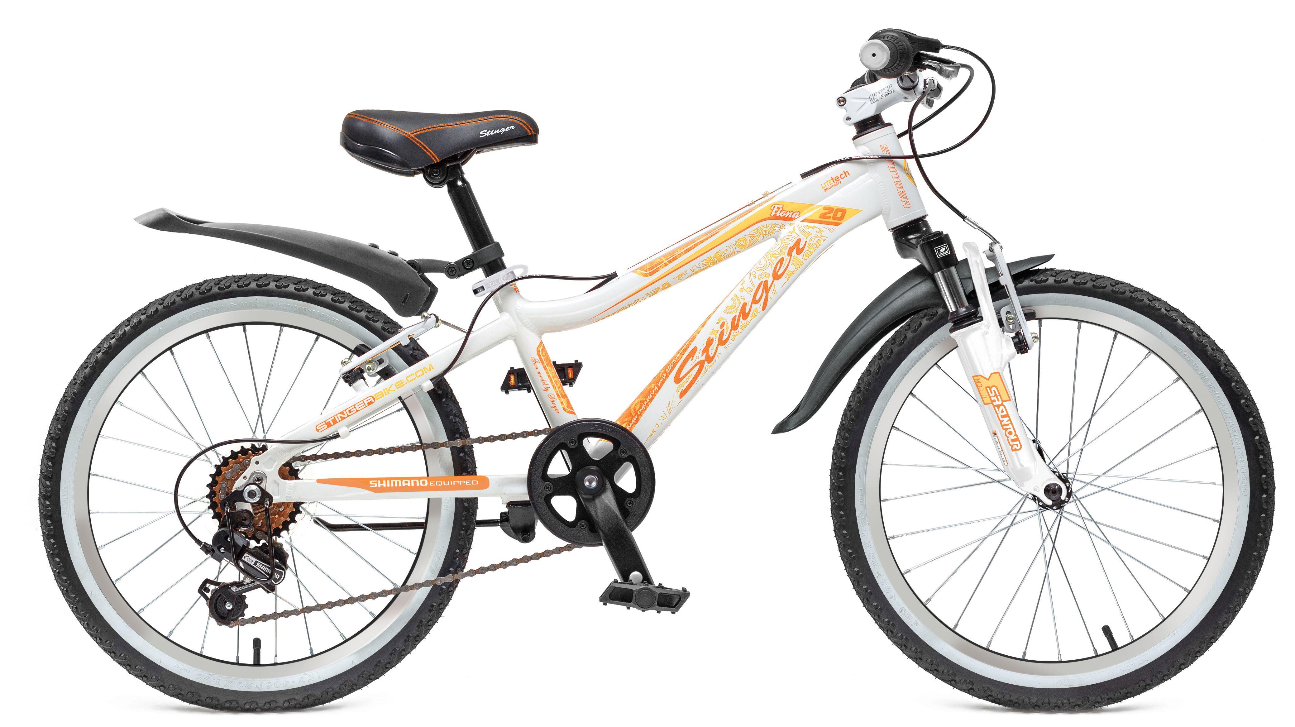 Велосипед Stinger Fiona Kid 20 2017 платье fiona ferrari платья и сарафаны мини короткие