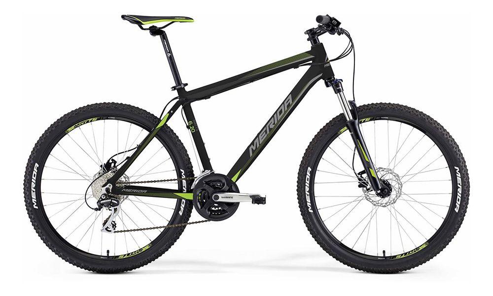 Велосипед MeridaГорные<br>ВЕЛОСИПЕД MERIDA MATTS 6.20-D (2016) — горная модель которая отвечает всем требованиям и воплощает лучшие идеи бренда. Этот велосипед состоит из фирменной рамы Matts D, дополненной дисковыми гидравлическими тормозами Tektro Auriga и колесами 26 дюймов с покрышками Merida Race. Устойчивая к любым условиям спортивная комплектация в сочетании с удобной посадкой сделают самую долгую поездку максимально комфортной и безопасной. Вы оцените плавную амортизацию, которую гарантирует вилка SR 26 XCT-HLO с ходом 100 мм, а трансмиссия на 24 скорости значительно увеличит маневренность велосипеда и его возможности на разных локациях.В нашем Интернет-магазине можно купить ВЕЛОСИПЕД MERIDA MATTS 6.20-D (2016) по доступной цене. Для вас — скидки и акции, все новинки брендов и доставка в любую точку РФ.<br><br>year: 2016<br>пол: мужской<br>тип рамы: хардтейл<br>уровень оборудования: любительский<br>длина хода вилки: от 100 до 150 мм<br>блокировка амортизатора: да<br>рулевая колонка: EGG steel-B<br>вынос: Merida comp OS 6<br>руль: Merida comp OS, ширина 660 мм, R25<br>грипсы: Merida kraton<br>передний тормоз: Tektro Auriga, диаметр ротора 160 мм<br>задний тормоз: Tektro Auriga, диаметр ротора 160 мм<br>тормозные ручки: Attached<br>цепь: Chain 8s<br>система: Shimano M131, 42-34-24 CG<br>каретка: Картриджные подшипники<br>педали: XC, сталь<br>ободья: Merida Matts D<br>передняя втулка: Disc, алюминиевый сплав<br>задняя втулка: Disc cassette, алюминиевый сплав<br>спицы: Сталь, ucp<br>передняя покрышка: Merida Race, 26<br>задняя покрышка: Merida Race, 26<br>седло: Merida Sport 5<br>подседельный штырь: Merida speed, 27.2 мм<br>кассета: Sunrace CS8, 11-32<br>успокоитель: Attached<br>манетки: Shimano Altus, rapidfire<br>рама: Matts D<br>вилка: SR 26 XCT-HLO, ход 100 мм<br>тип заднего амортизатора: без амортизатора<br>цвет: чёрный<br>размер рамы: 14.5&amp;amp;quot;<br>материал рамы: алюминий<br>тип тормозов: дисковый гидравлический<br>диаметр колеса: 26<br>тип амортиз