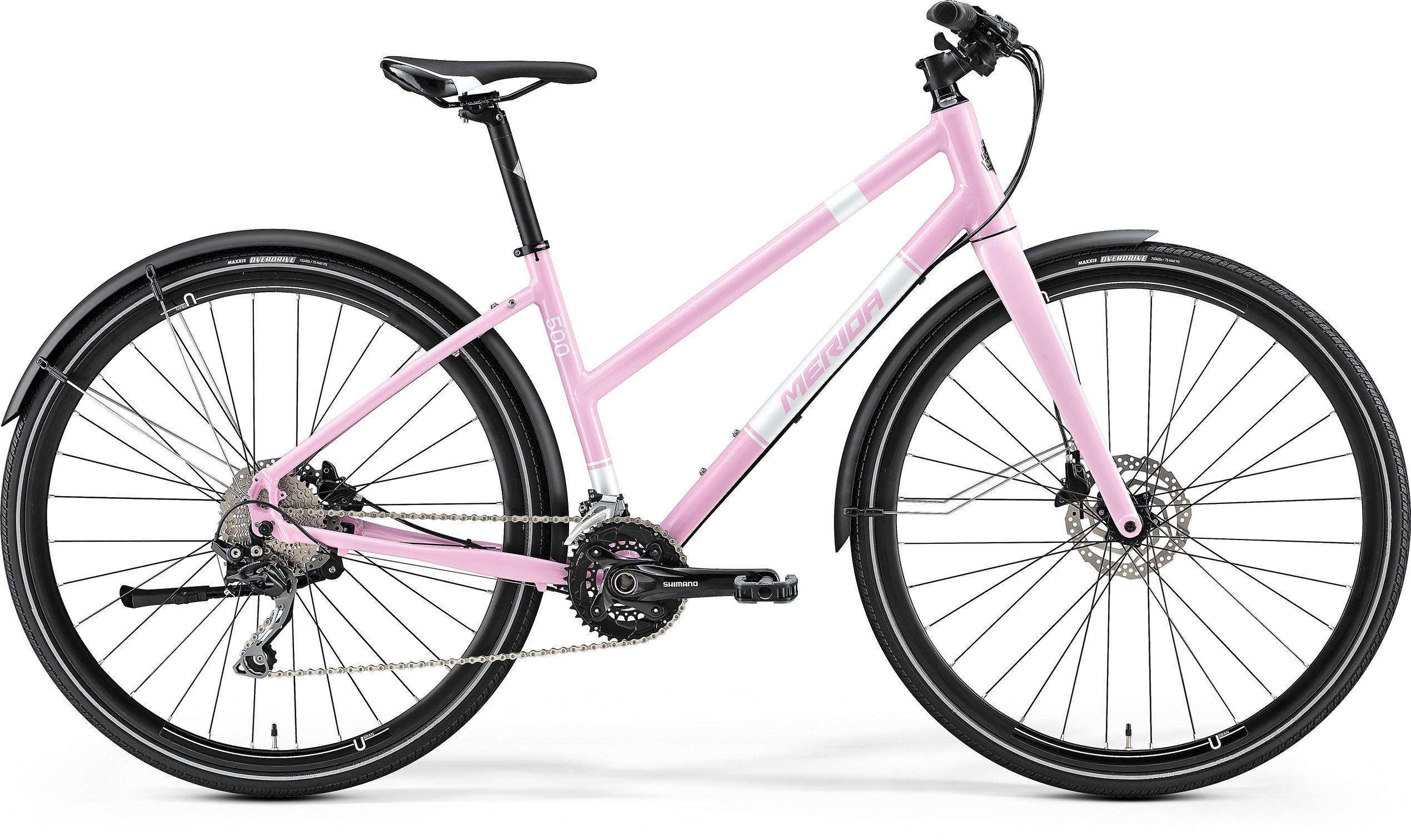 купить Велосипед Merida Crossway Urban 500-Lady 2017 недорого