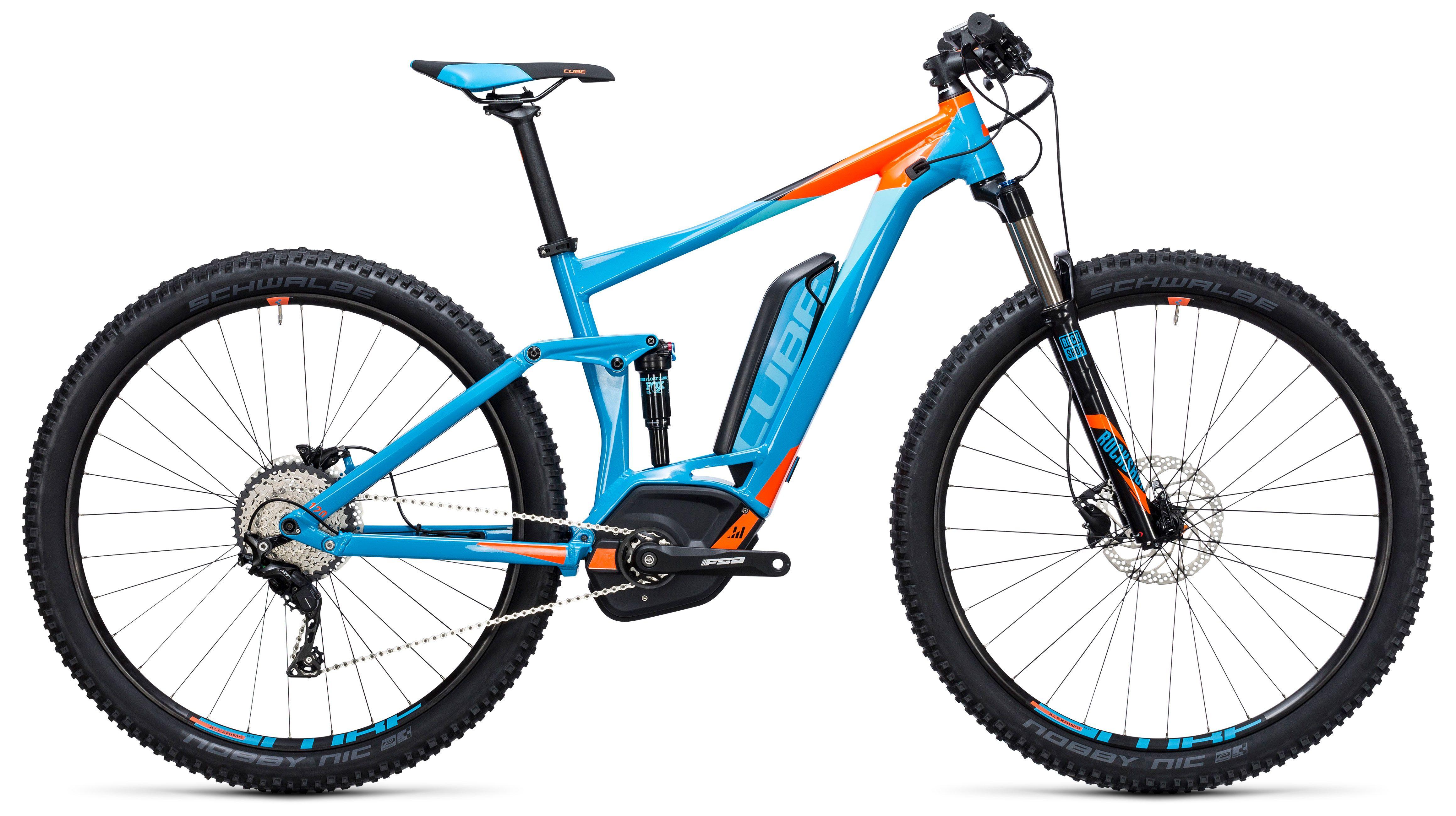 Велосипед Cube Stereo Hybrid 120 HPA PRO 500 27.5 2017,  Двухподвесы  - артикул:272820