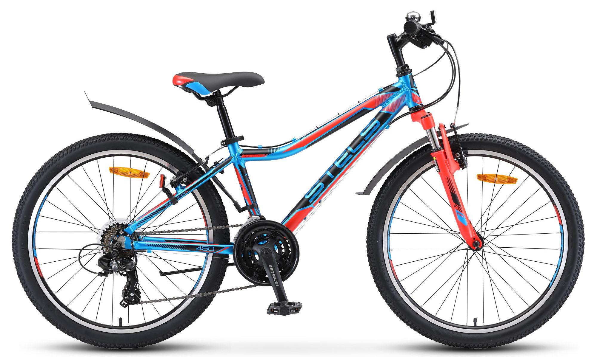 Велосипед Stels Navigator 450 V 24 V010 2019 велосипед stels navigator 410 v 21 sp 2017