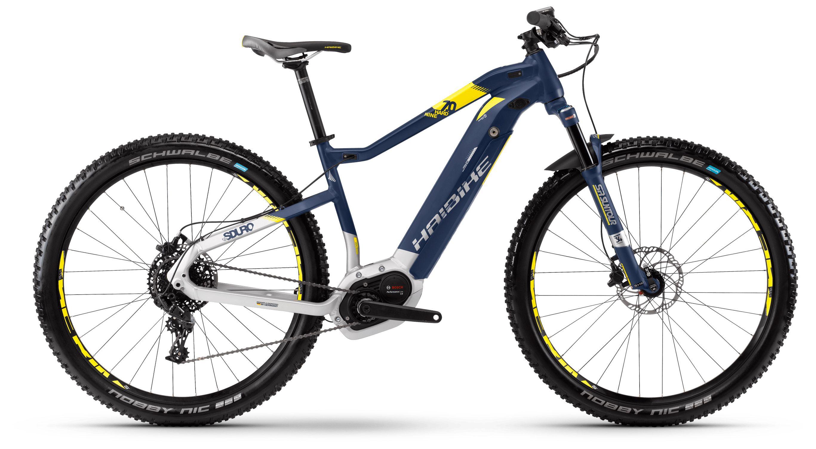 Велосипед Haibike Sduro HardNine 7.0 500Wh 11s NX 2018 велосипед haibike sduro hardseven 2 0 400wh 11s nx 2018
