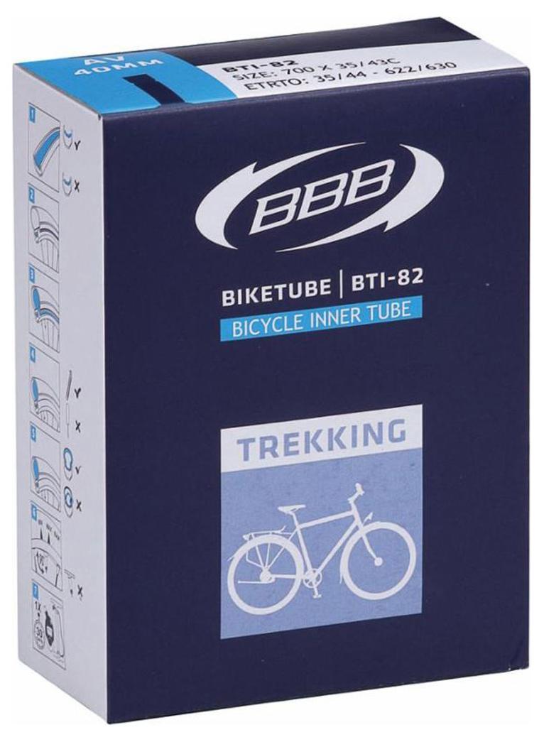 Запчасть BBB BTI-82 BikeTube 700*30/43C AV 40mm камера велосипедная of giant 700 x 35 43 26 1 95 giant 700 35c 43c 23 25 26 1 95