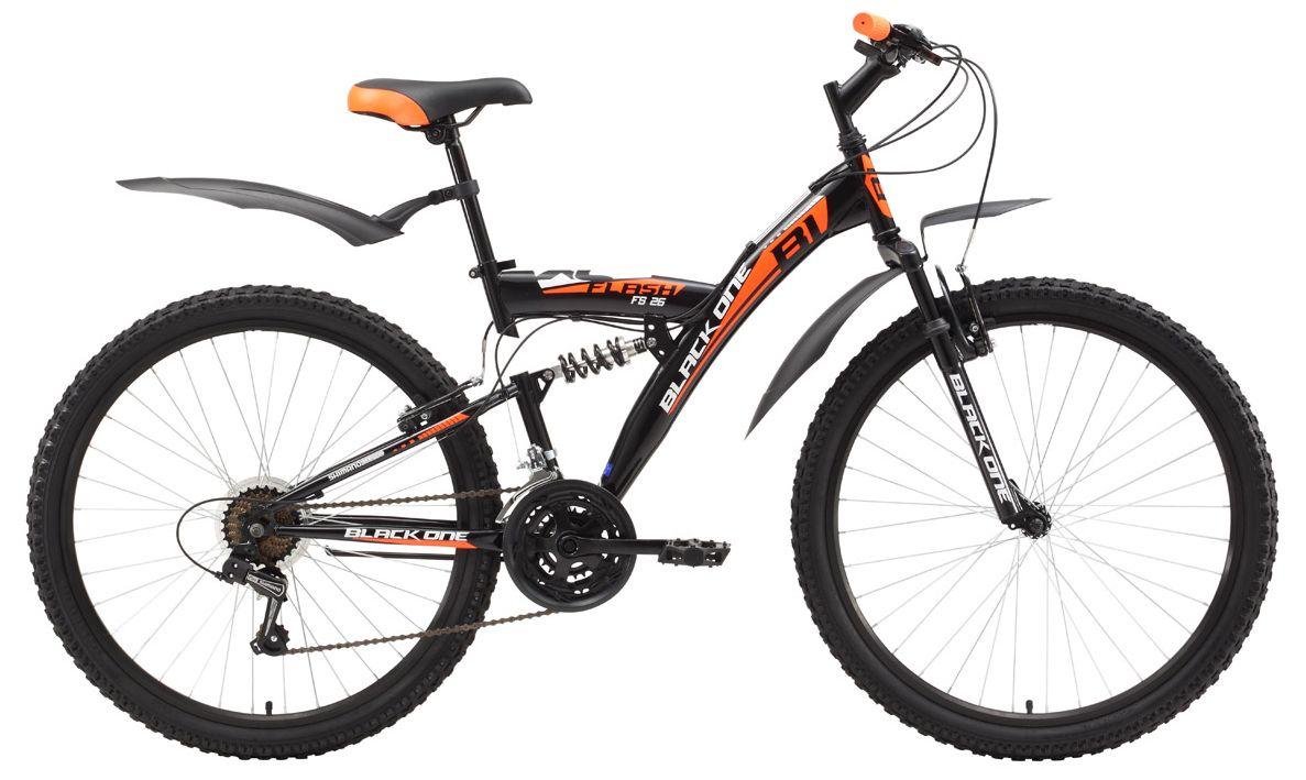 Велосипед Black One Flash FS 26 2017,  Двухподвесы  - артикул:279131
