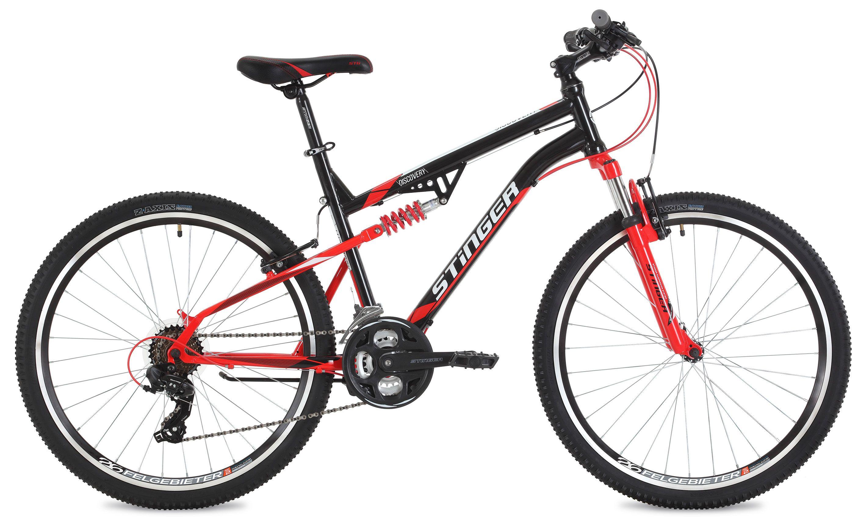 Велосипед Stinger Discovery 26 2018 противень 290х200х25 мм discovery 916200
