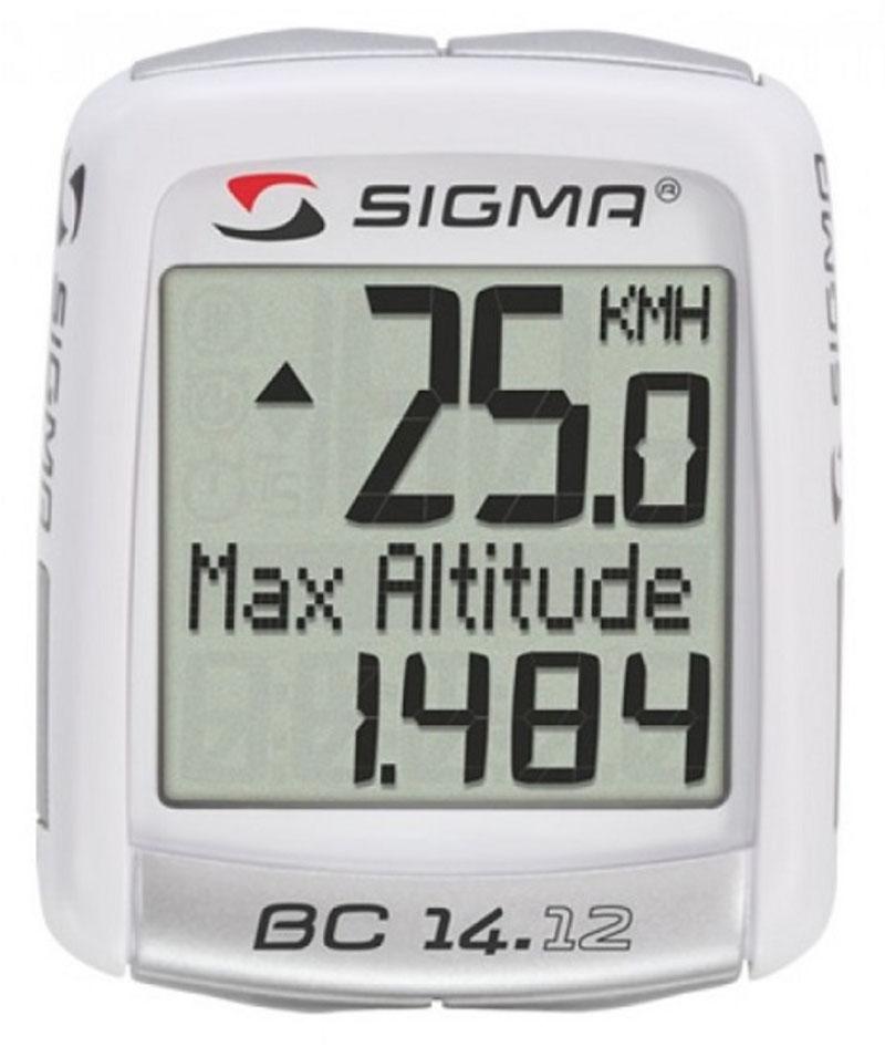Аксессуар SIGMA BC 14.12 ALTI (04150) велокомпьютер sigma sport bc 14 12 sts alti 14 функций беспроводной черный 04160