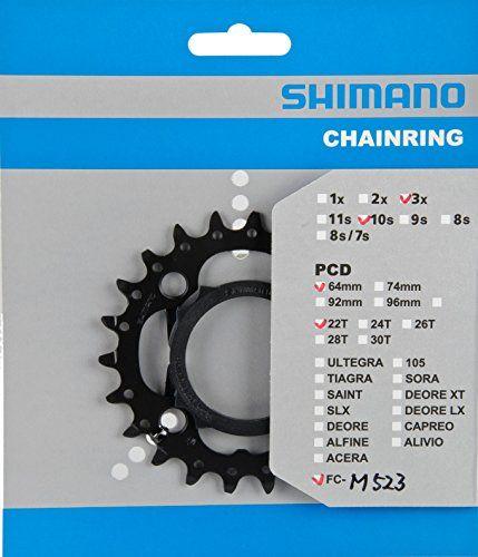 Товар Shimano звезда передняя FC-M523, 22T-AN,  привод  - артикул:286720