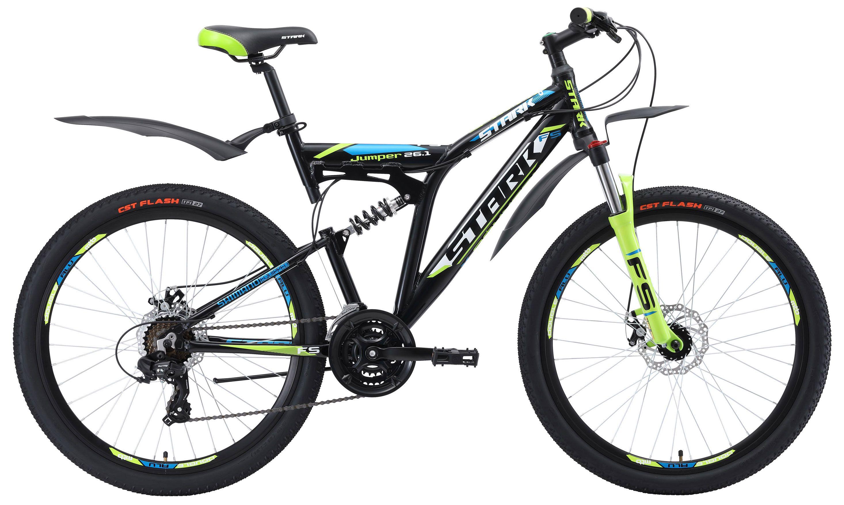Велосипед Stark Jumper 26.1 FS D 2018