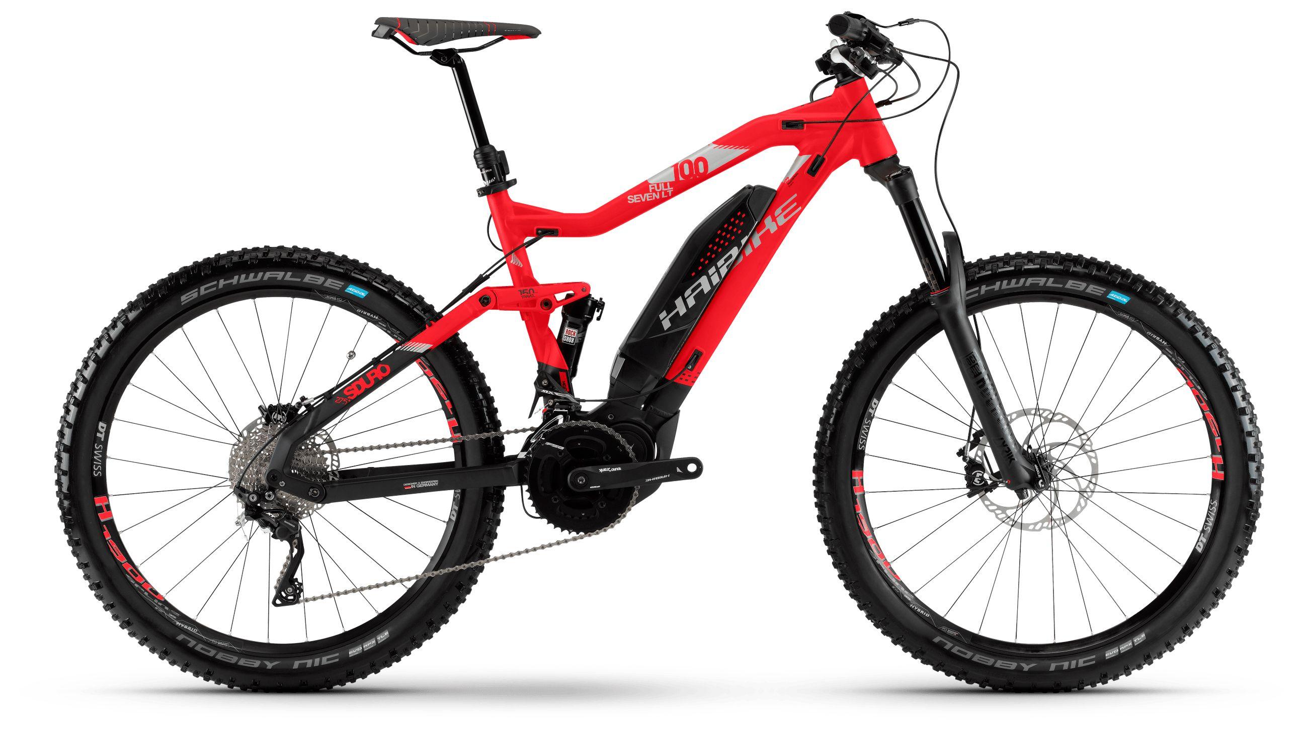 Велосипед Haibike Sduro FullSeven LT 10.0 500Wh 20s XT 2018