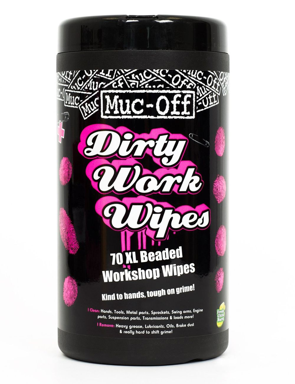 Аксессуар Muc-Off салфетки влажные Dirty Work Wipes, 70 шт.